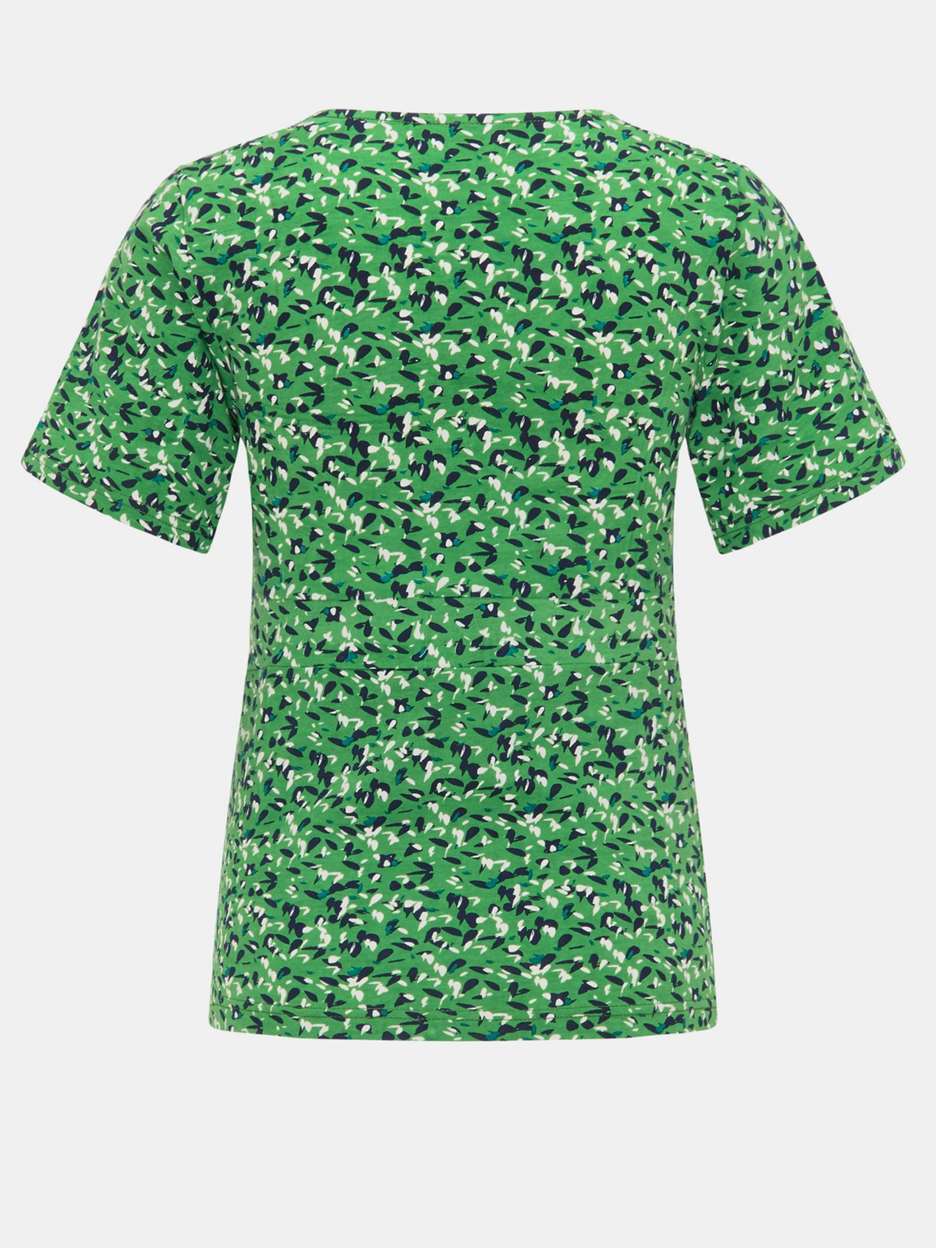 Tranquillo zelena majica z vzorcem