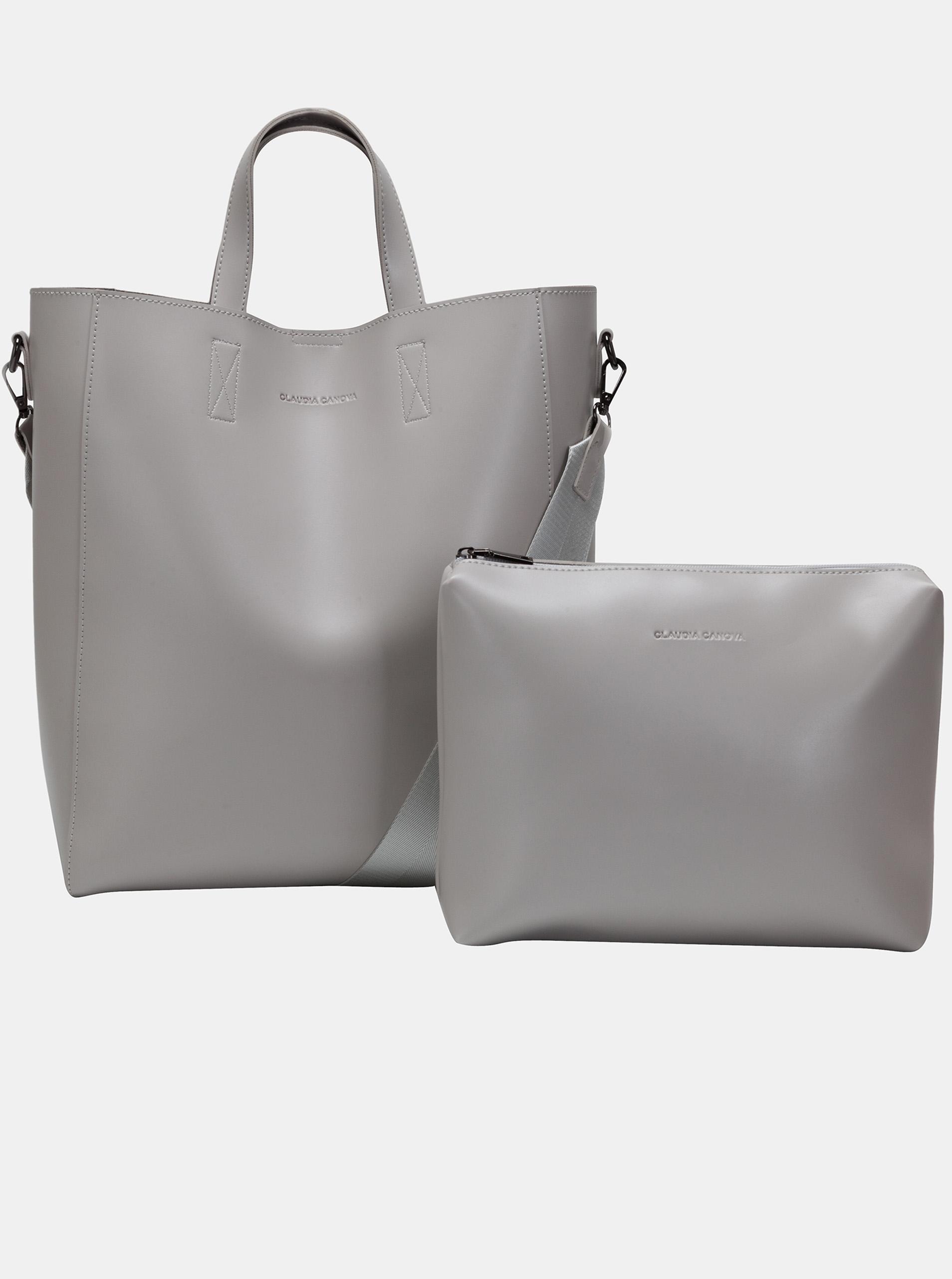 Claudia Canova siva velika torbica