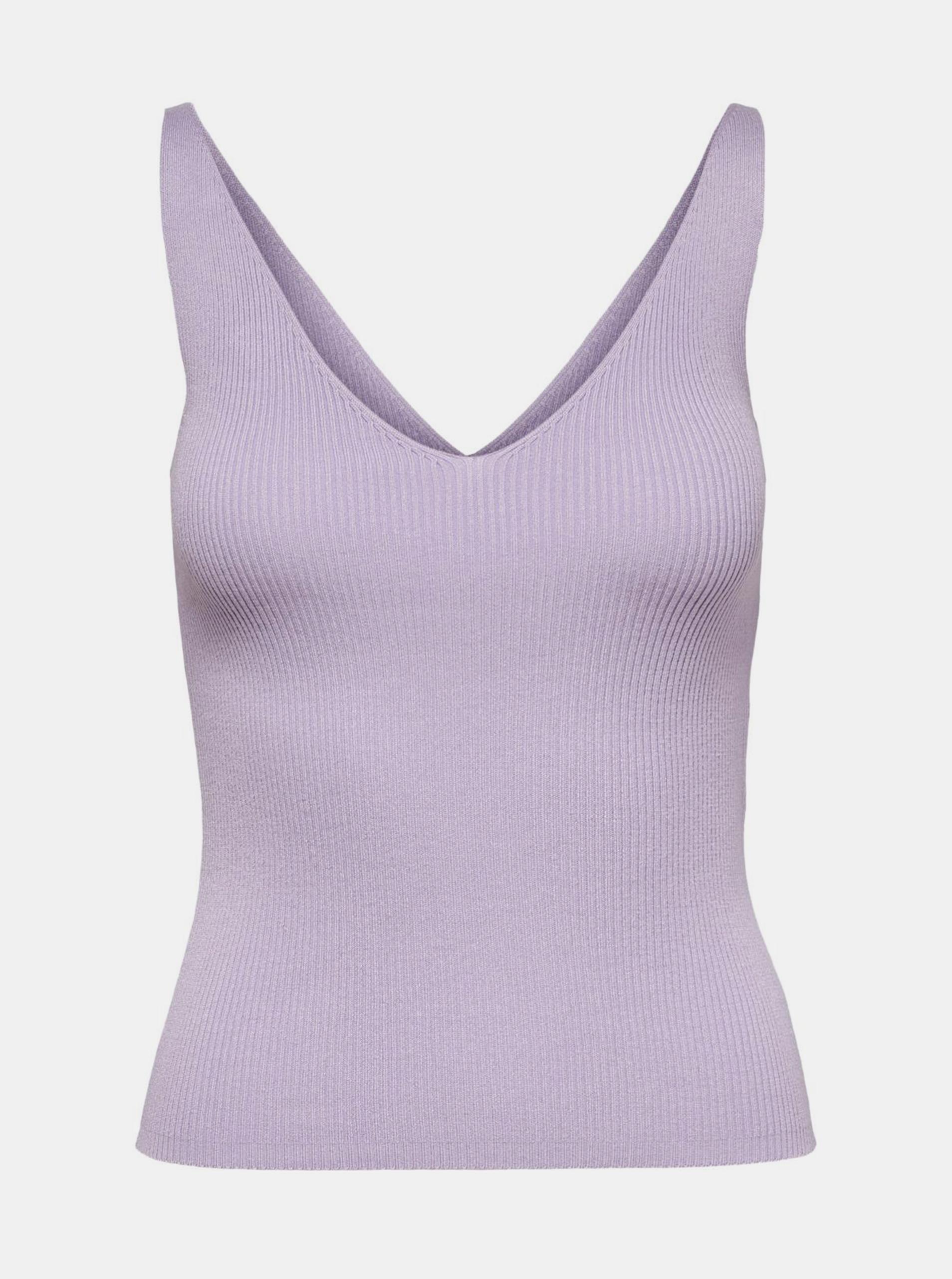 Jacqueline de Yong vijolična ženske top Nanna