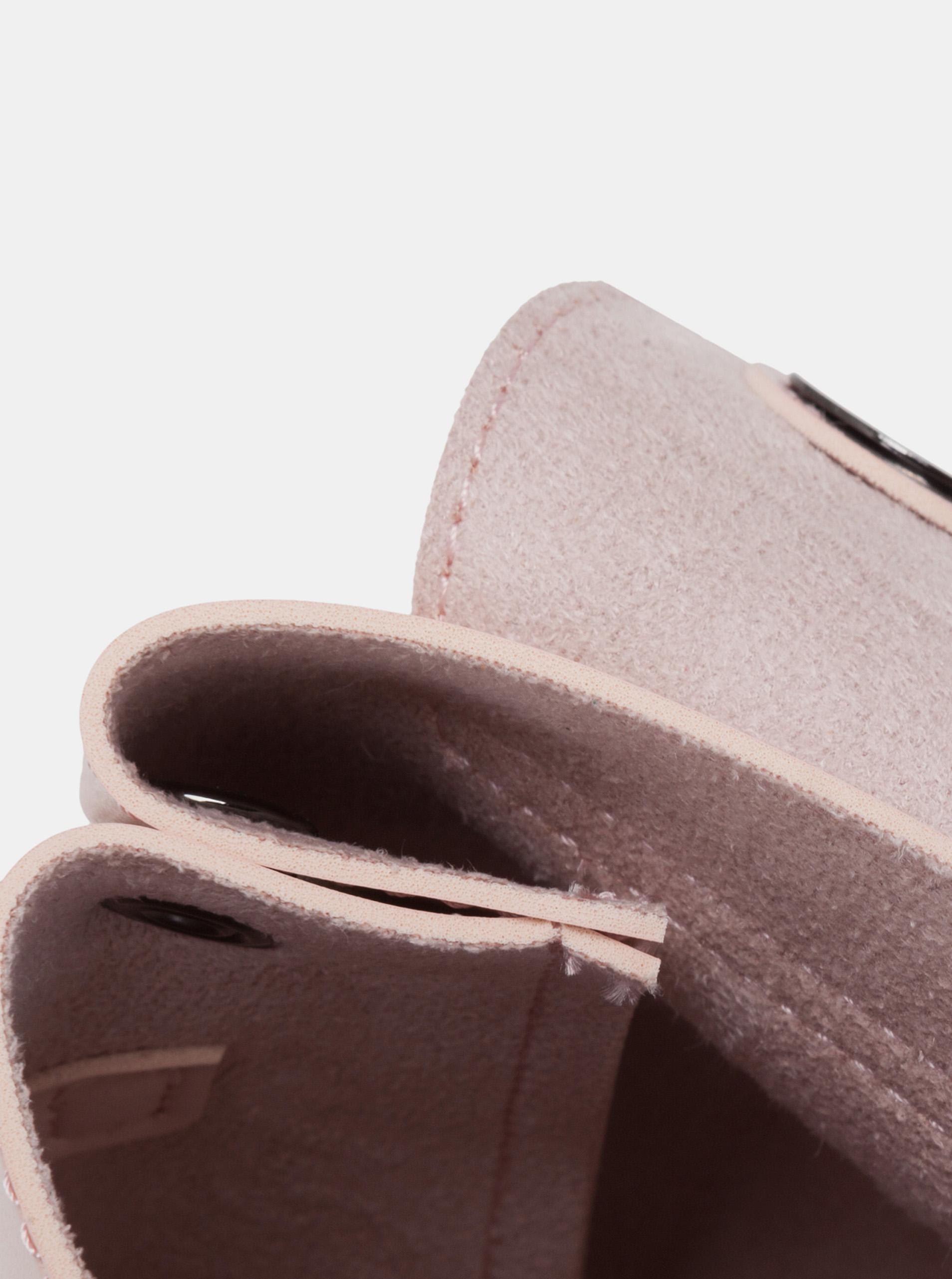 Claudia Canova roza crossbody torbica