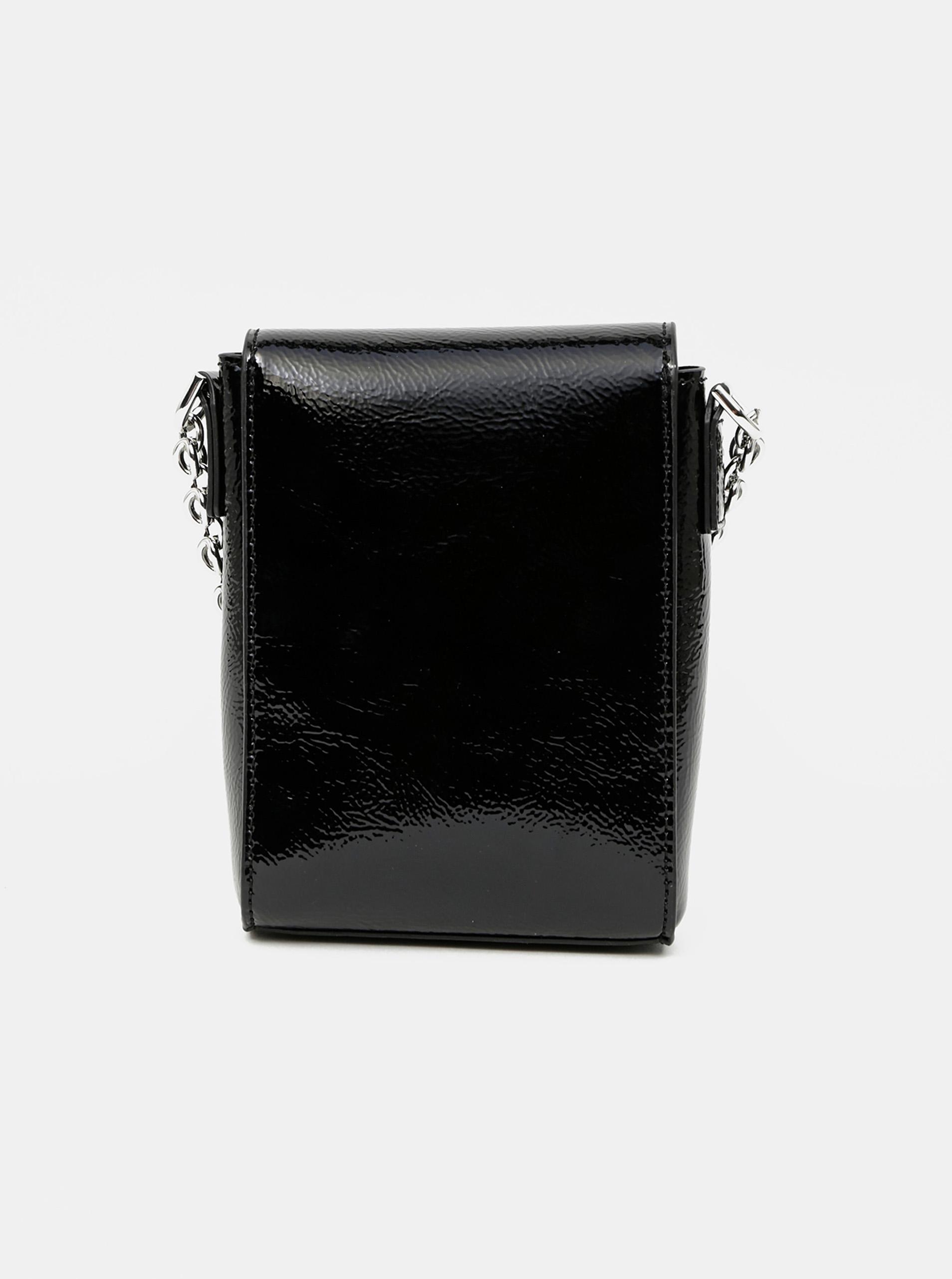 Calvin Klein črna crossbody mala torbica