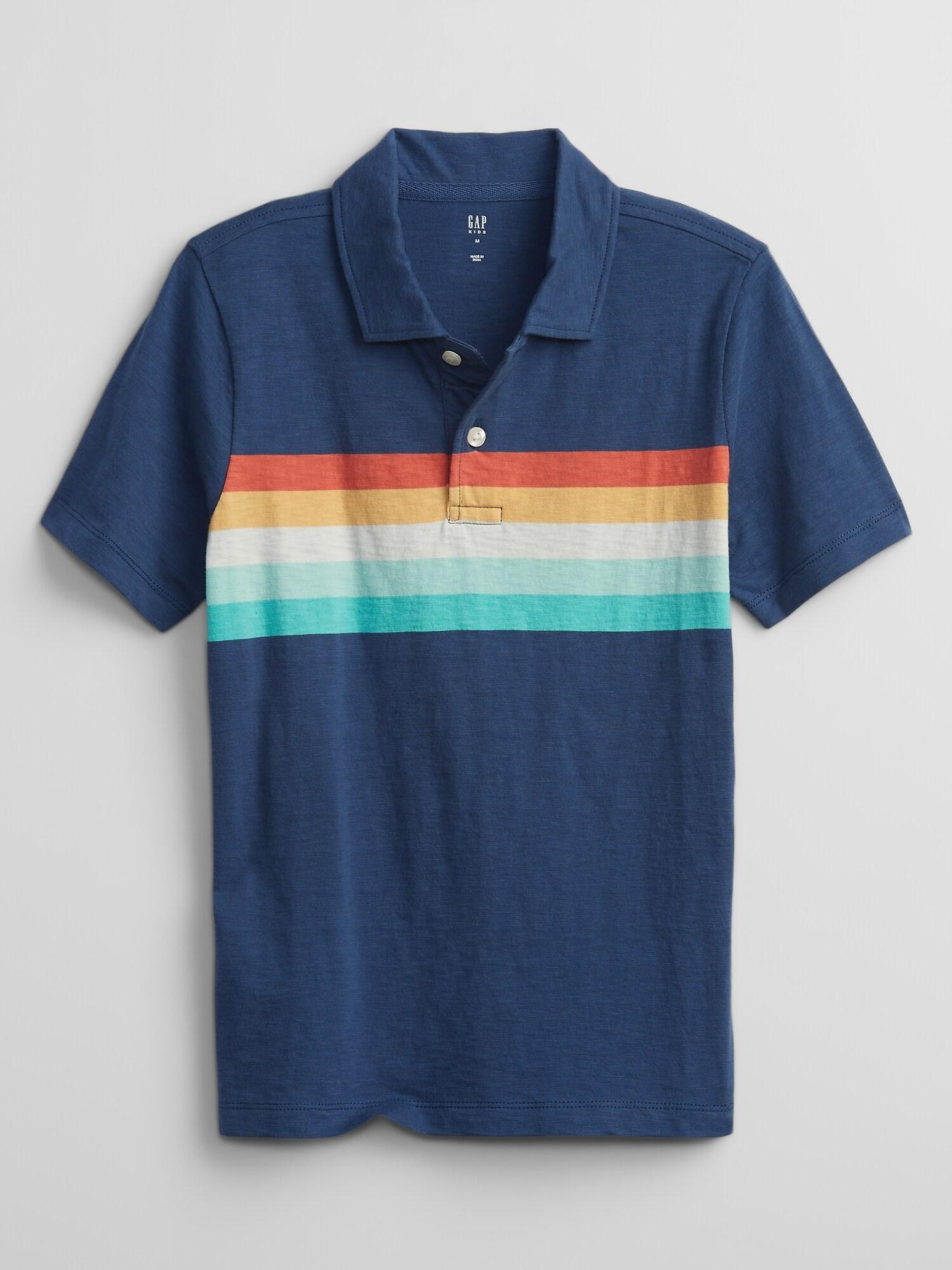 GAP Otroška polo majica Modra