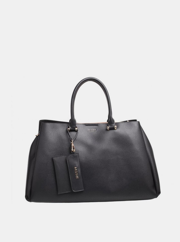Bessie London črna torbica