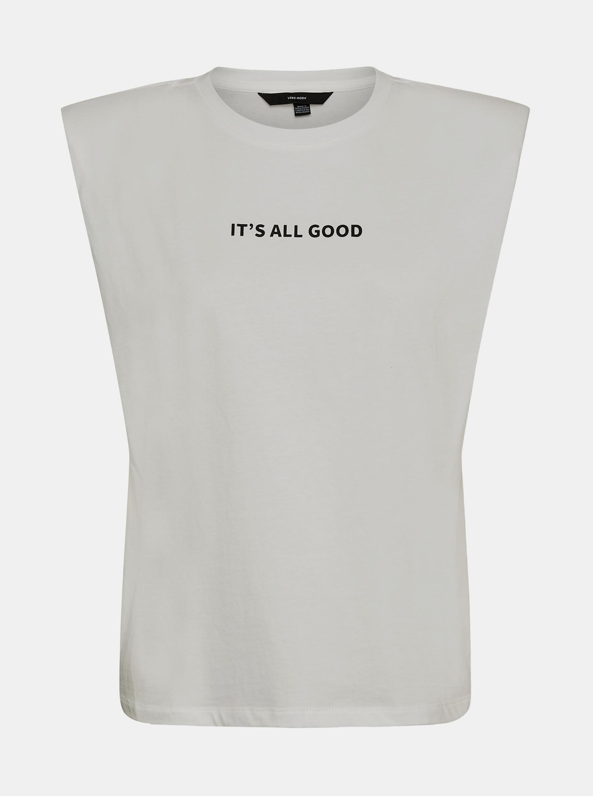 Vero Moda bela majica Hollie