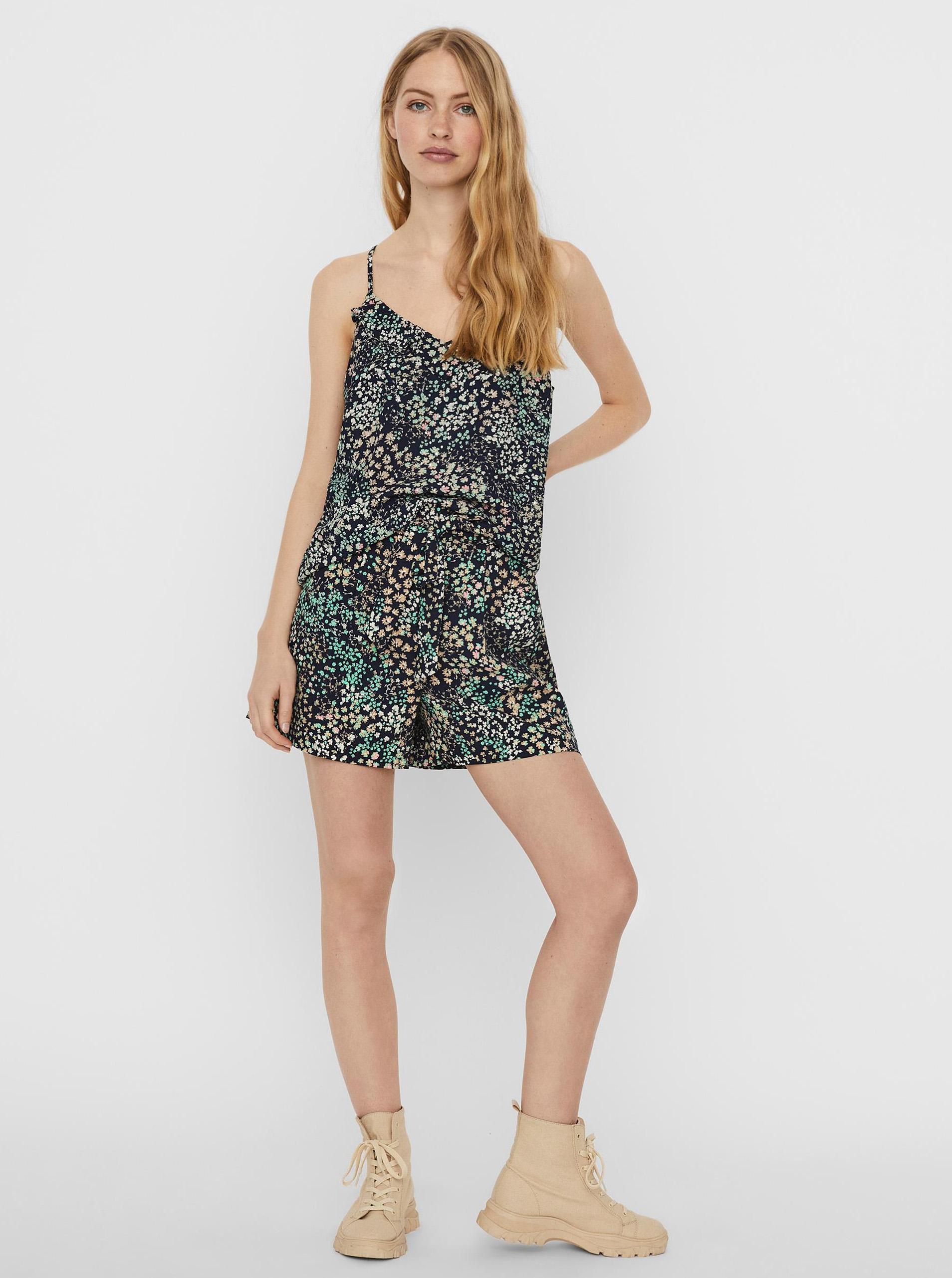 Vero Moda top Hannah s cvetličnim motivom