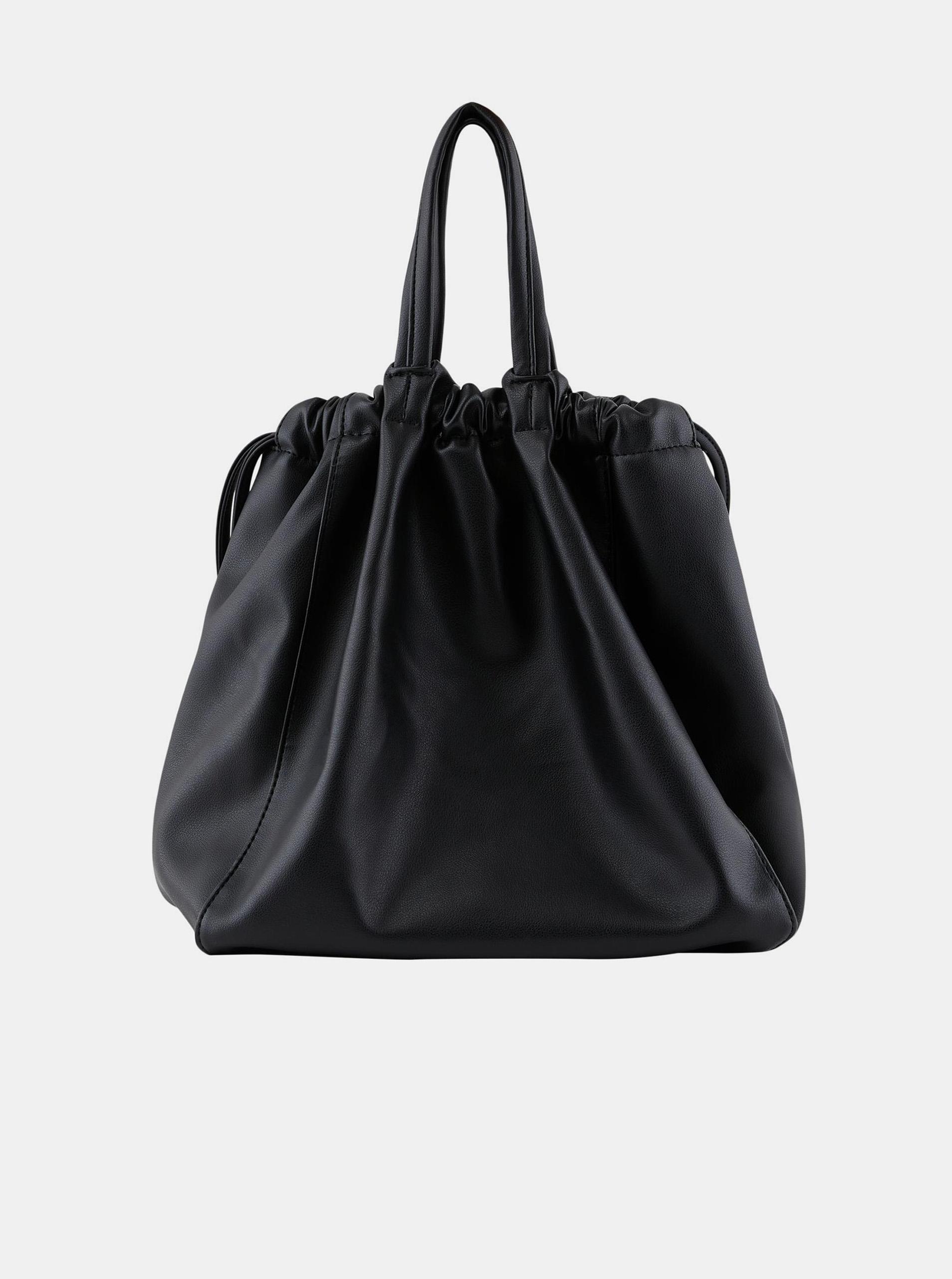 Pieces črna vrečka z vrvico Talli