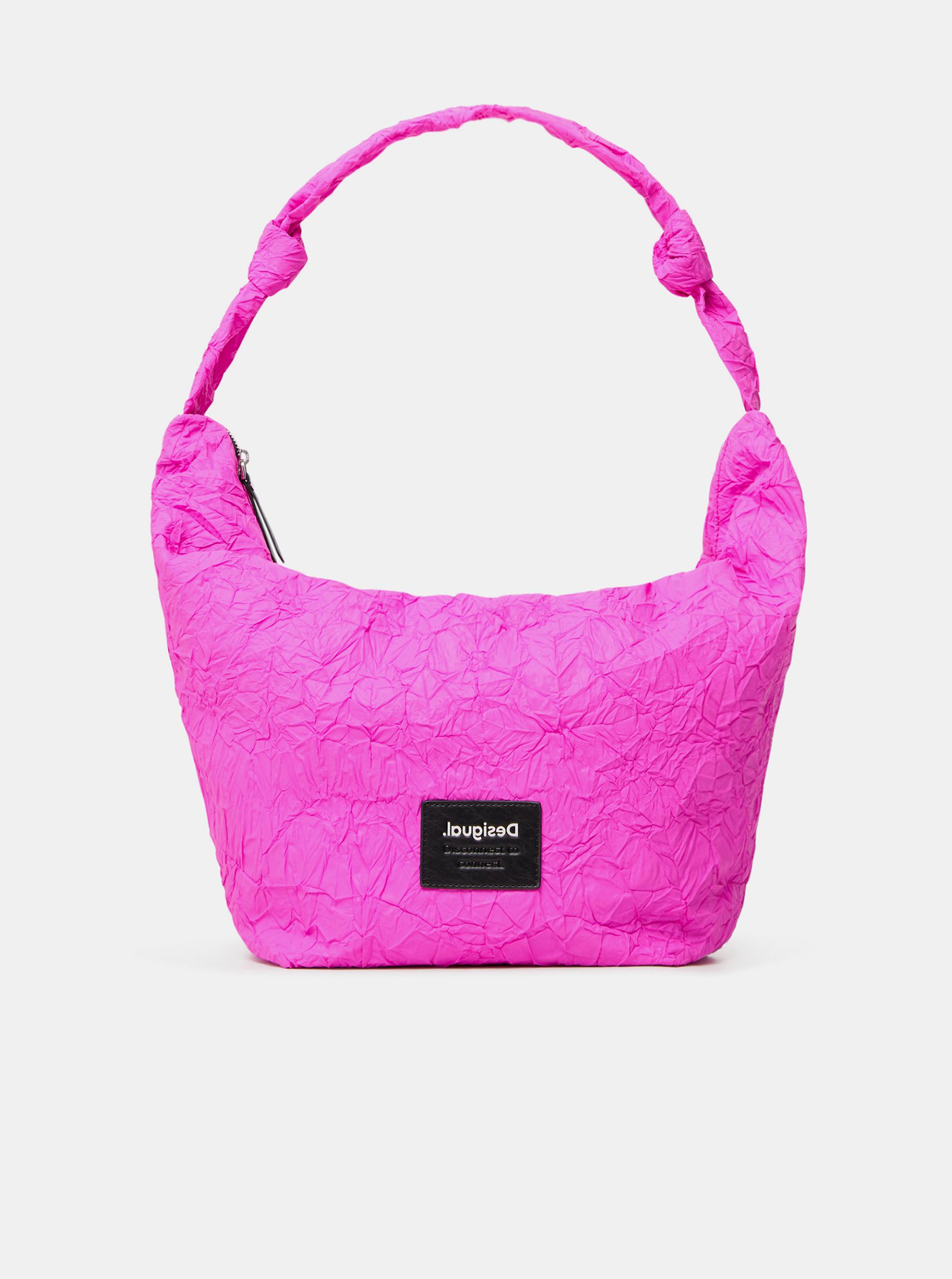 Desigual roza velika torbica Crush Idaho