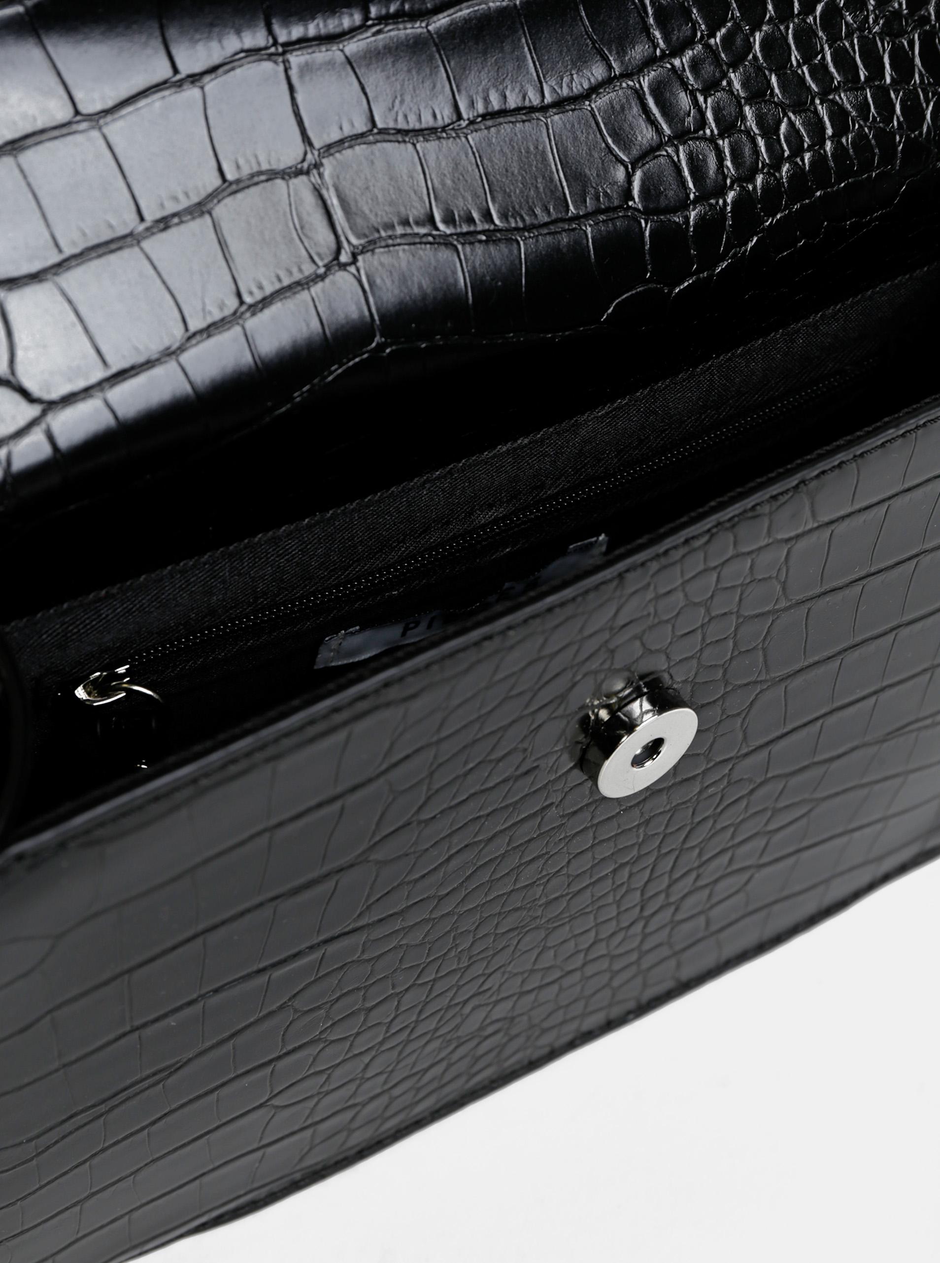 Pieces črna crossbody torbica Julie