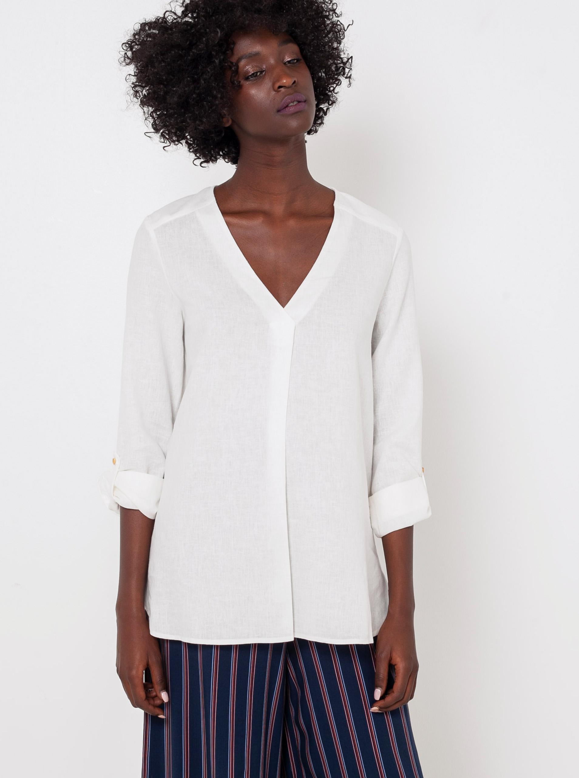 CAMAIEU bela bluza
