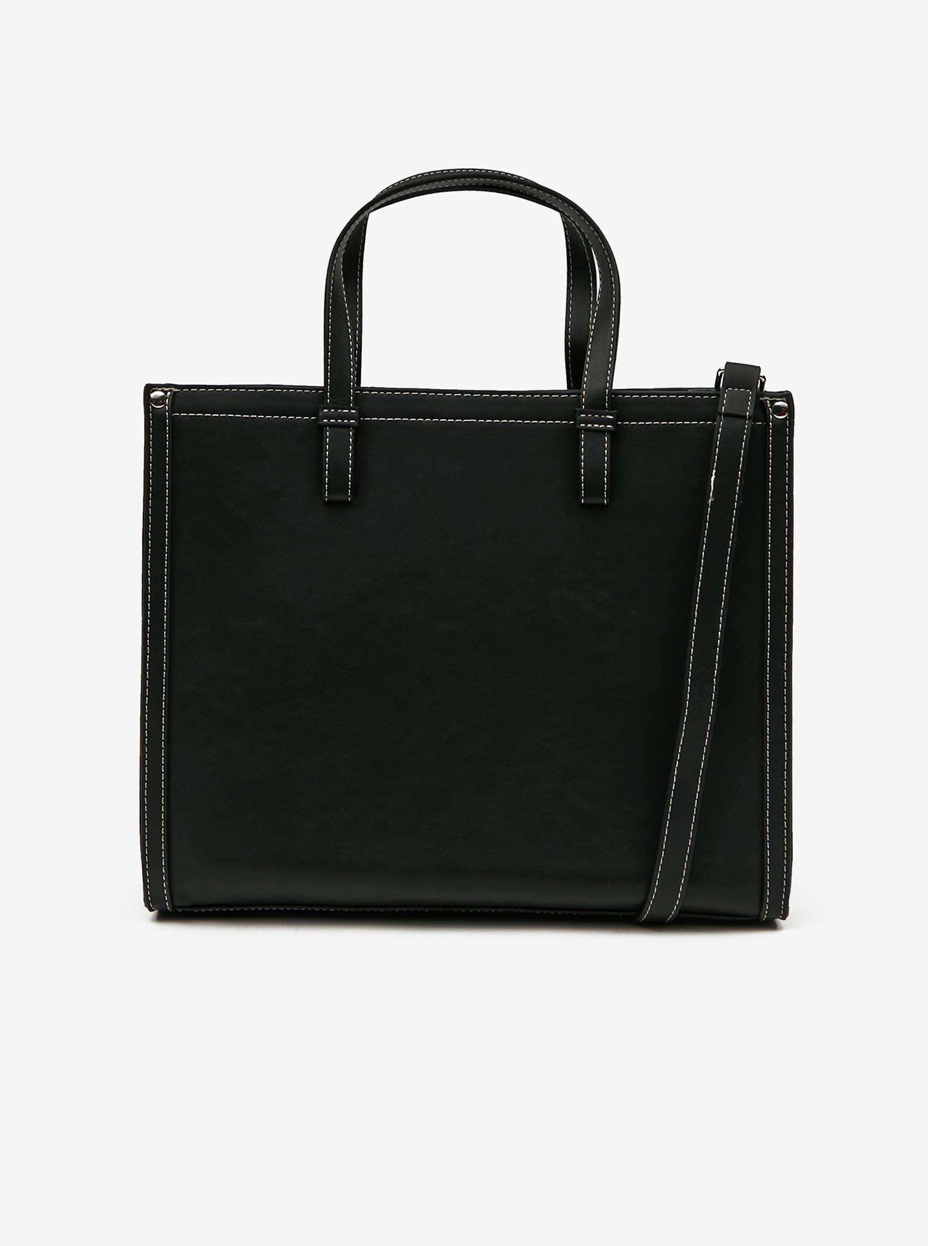 Pieces črna torbica Lole