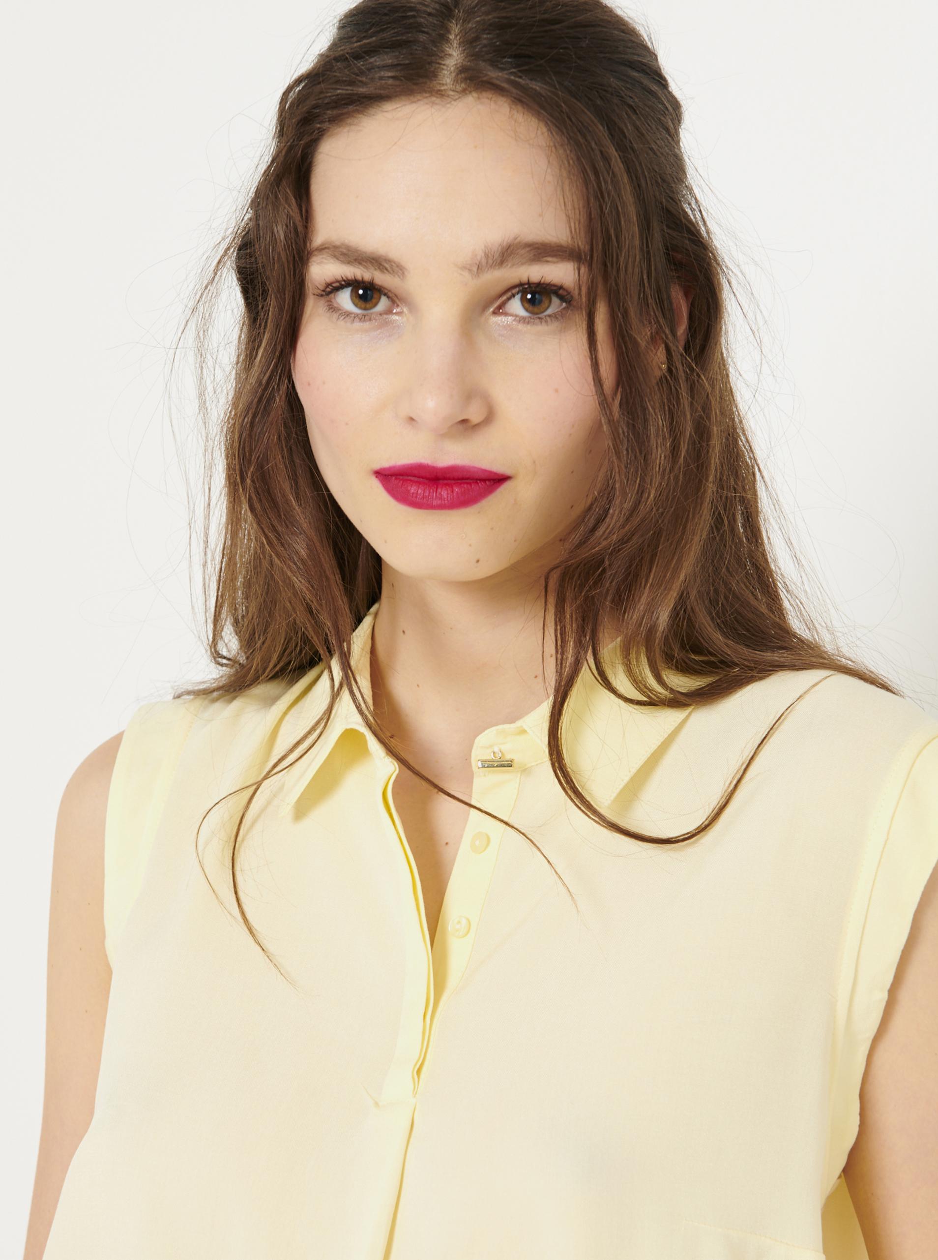 CAMAIEU Ženske bluze krem