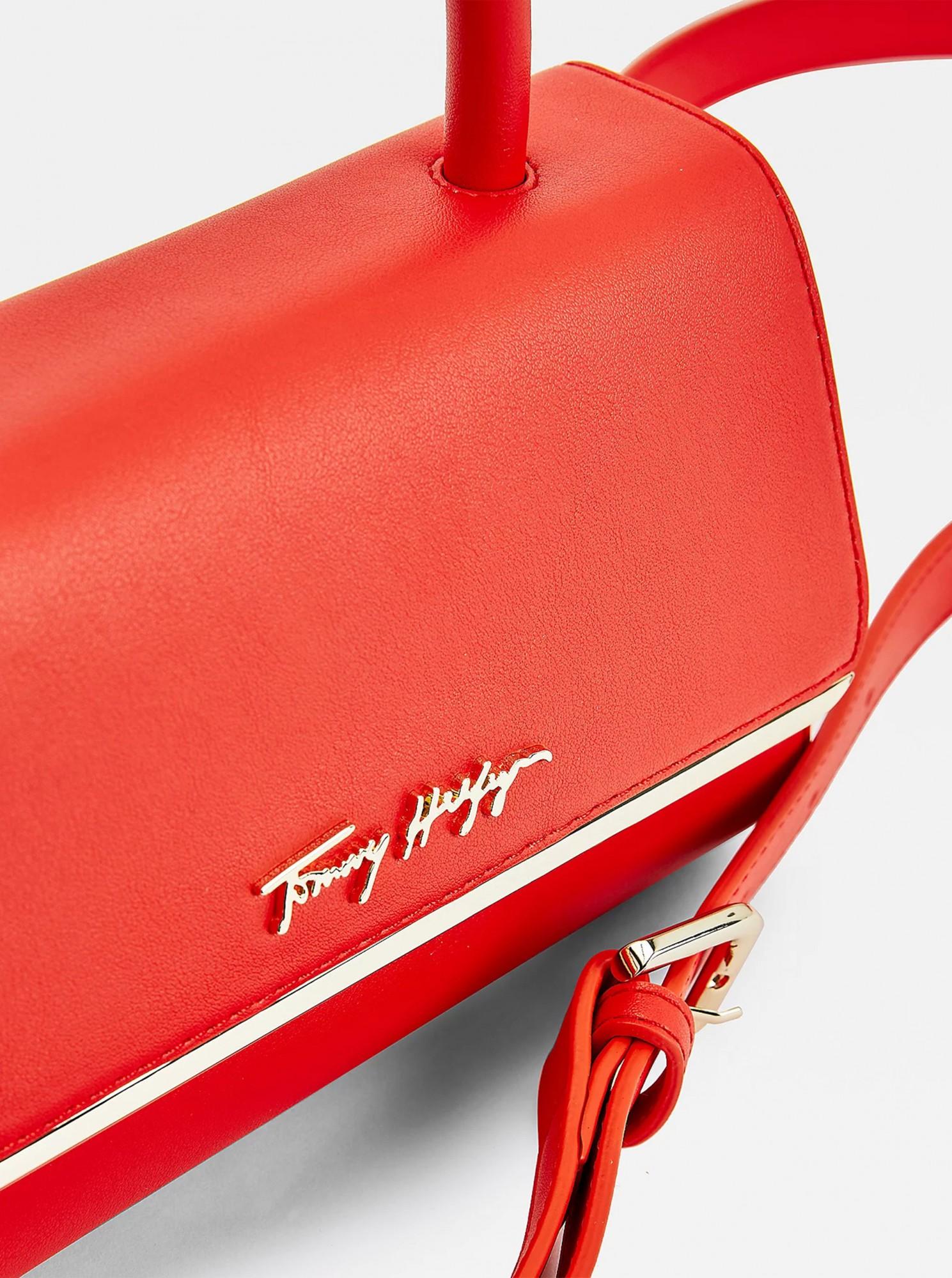 Tommy Hilfiger rdeča crossbody mala torbica