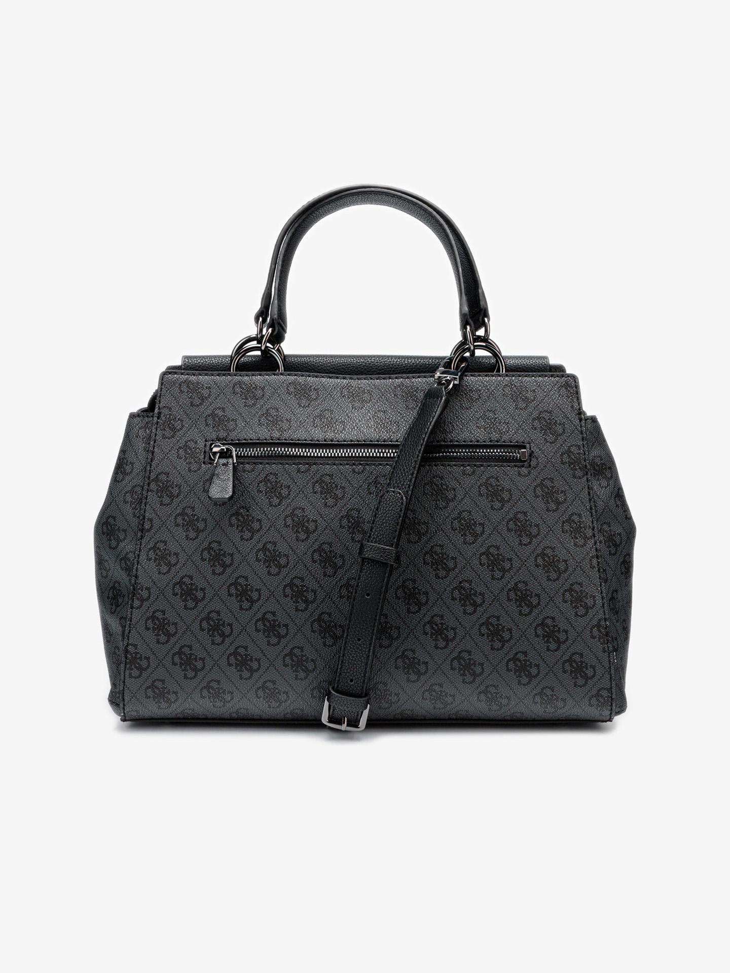 Guess črna torbica Valy Large