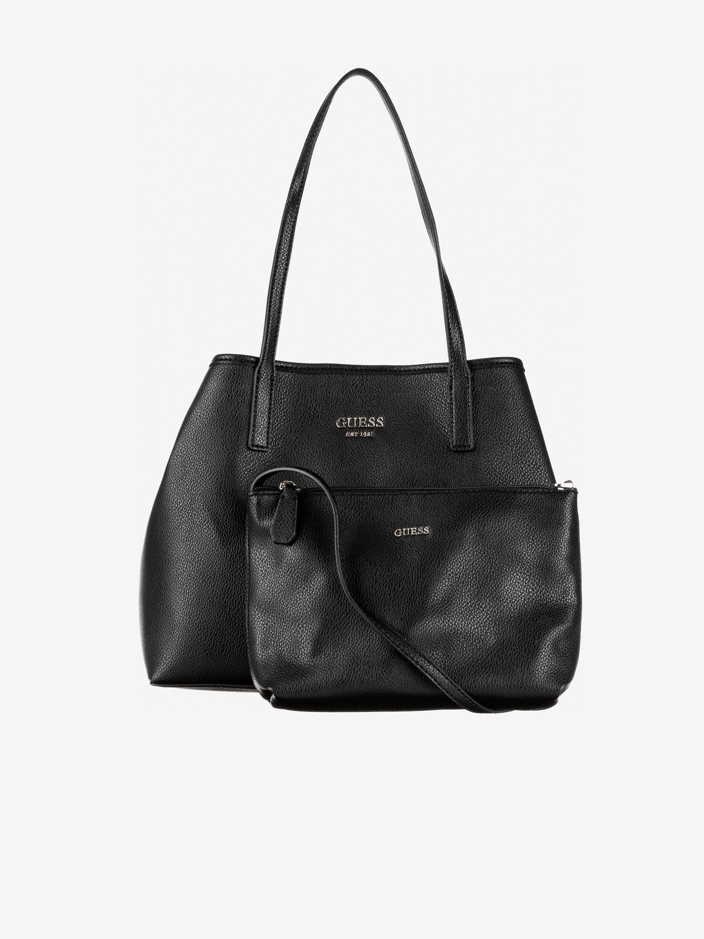 Guess črna torbica Vikky Medium