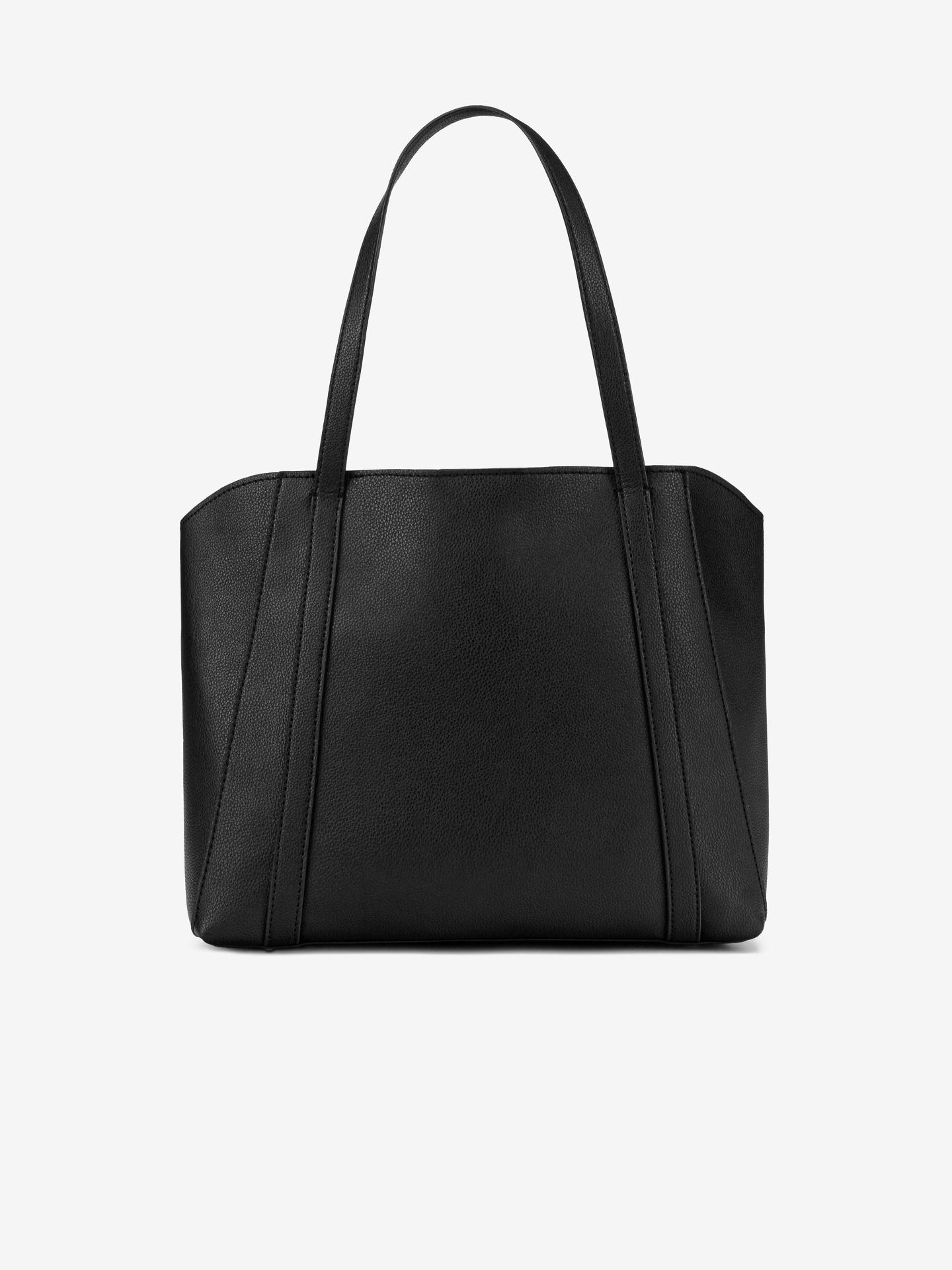 Guess črna torbica Naya Front Zip