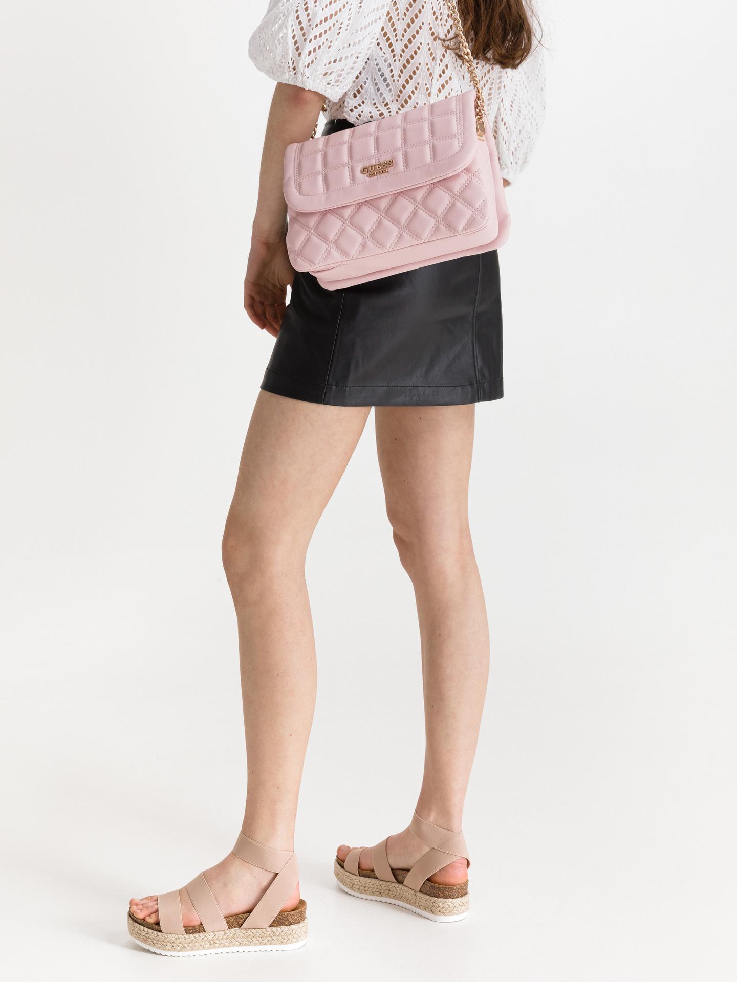 Guess roza torbica Kamina