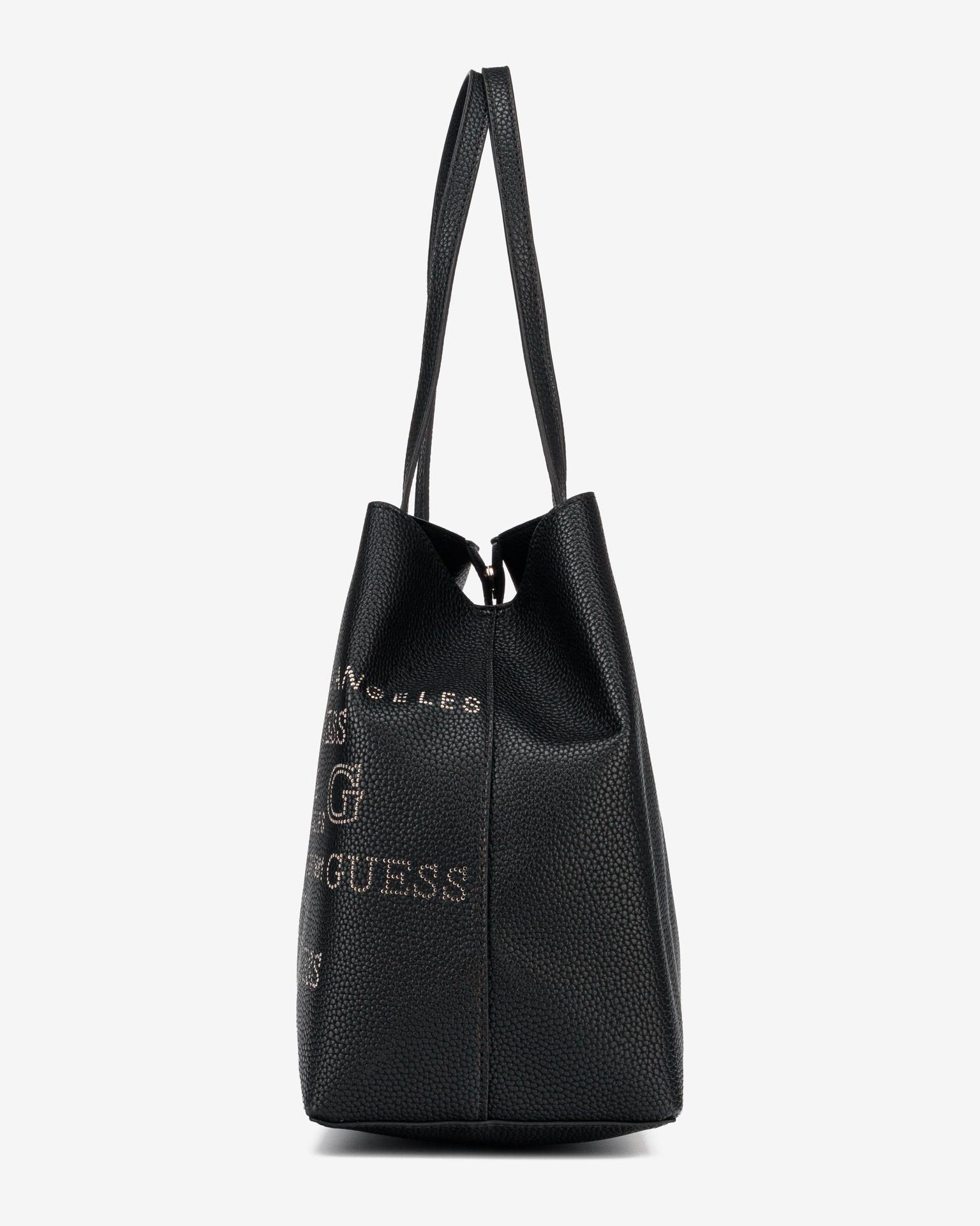 Guess črna torbica Vikky Large