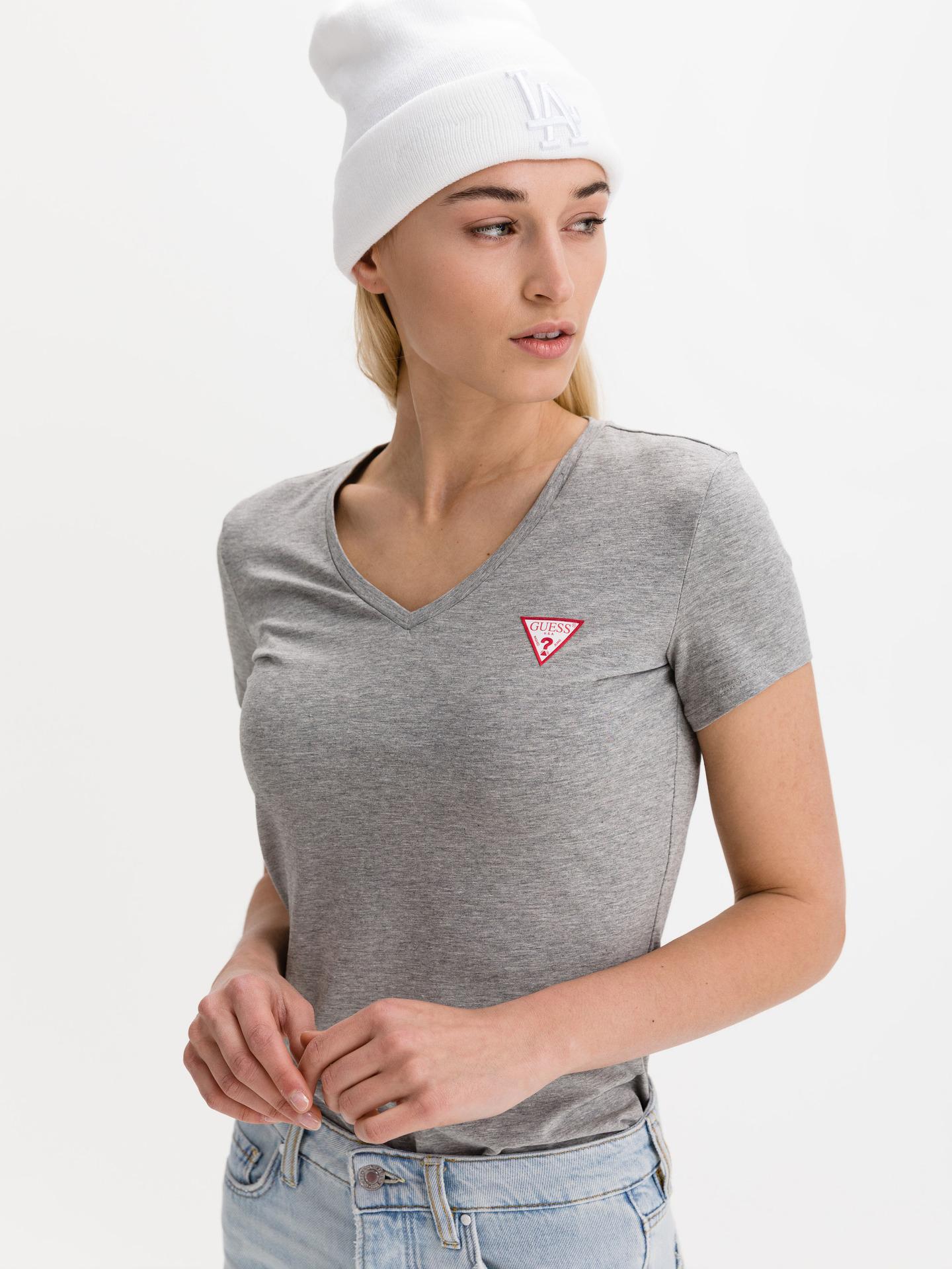 Guess siva majica Mini Triangle