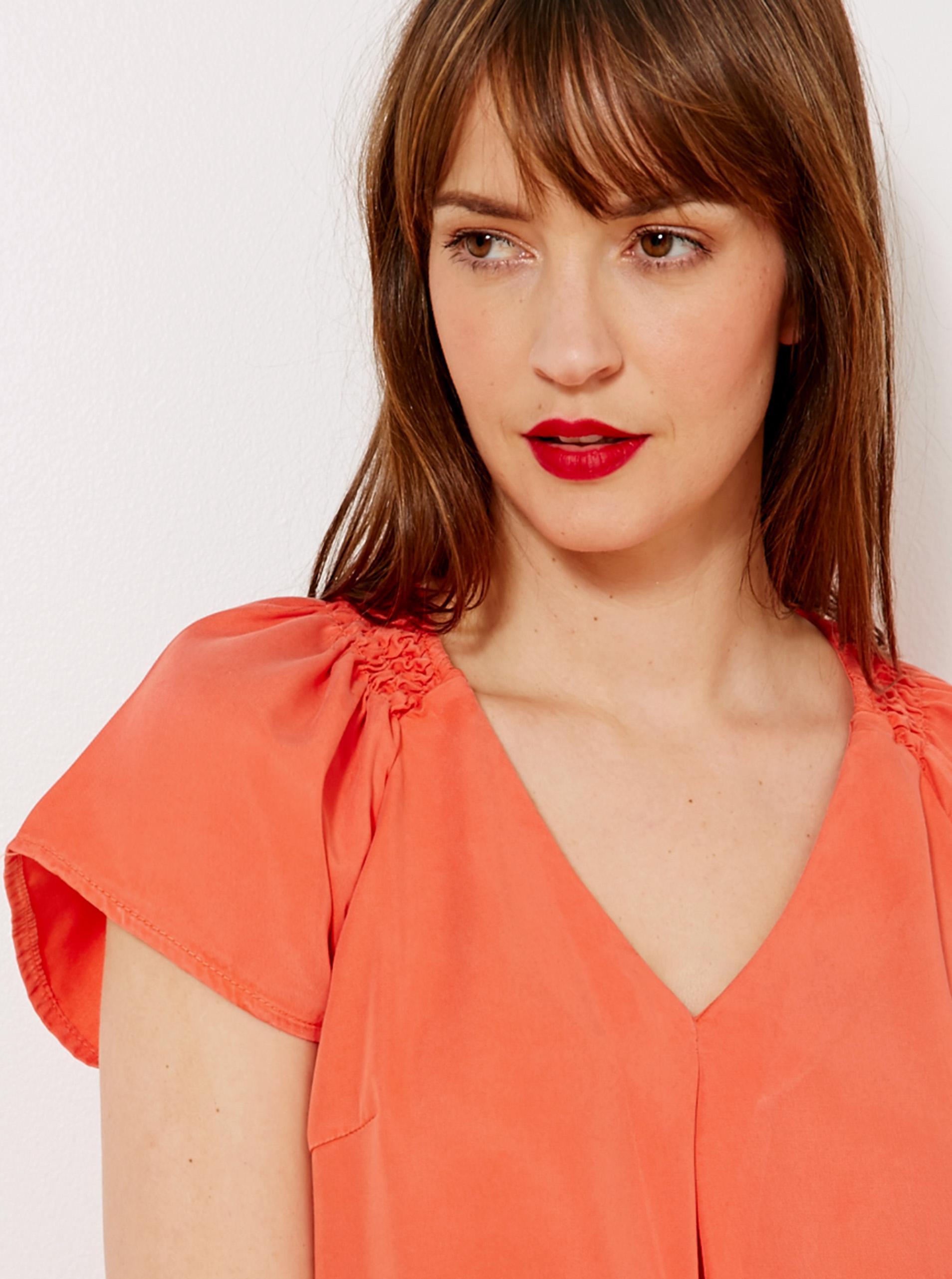 CAMAIEU Ženske bluze oranžna