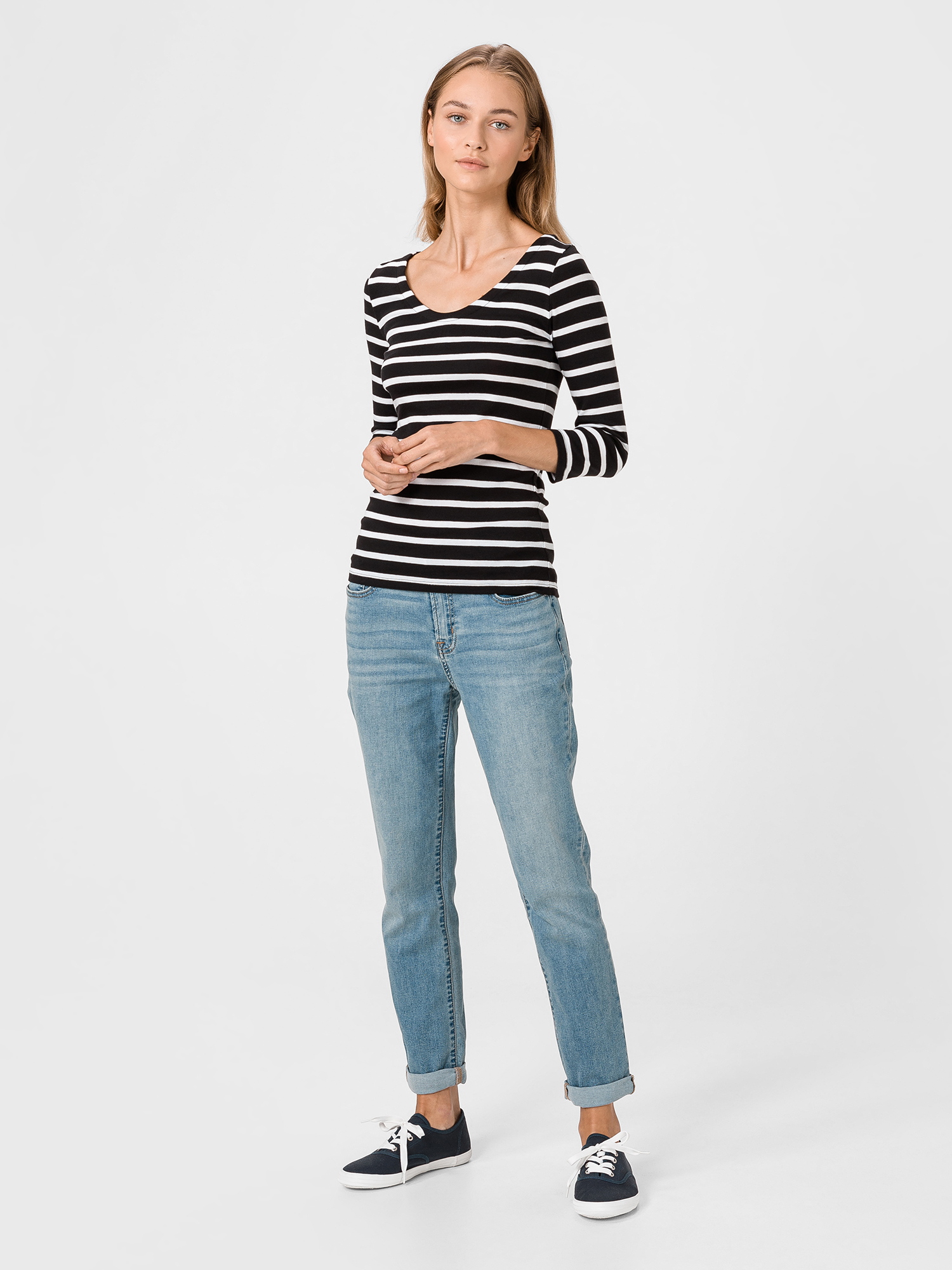 GAP Ženska majica, top modra