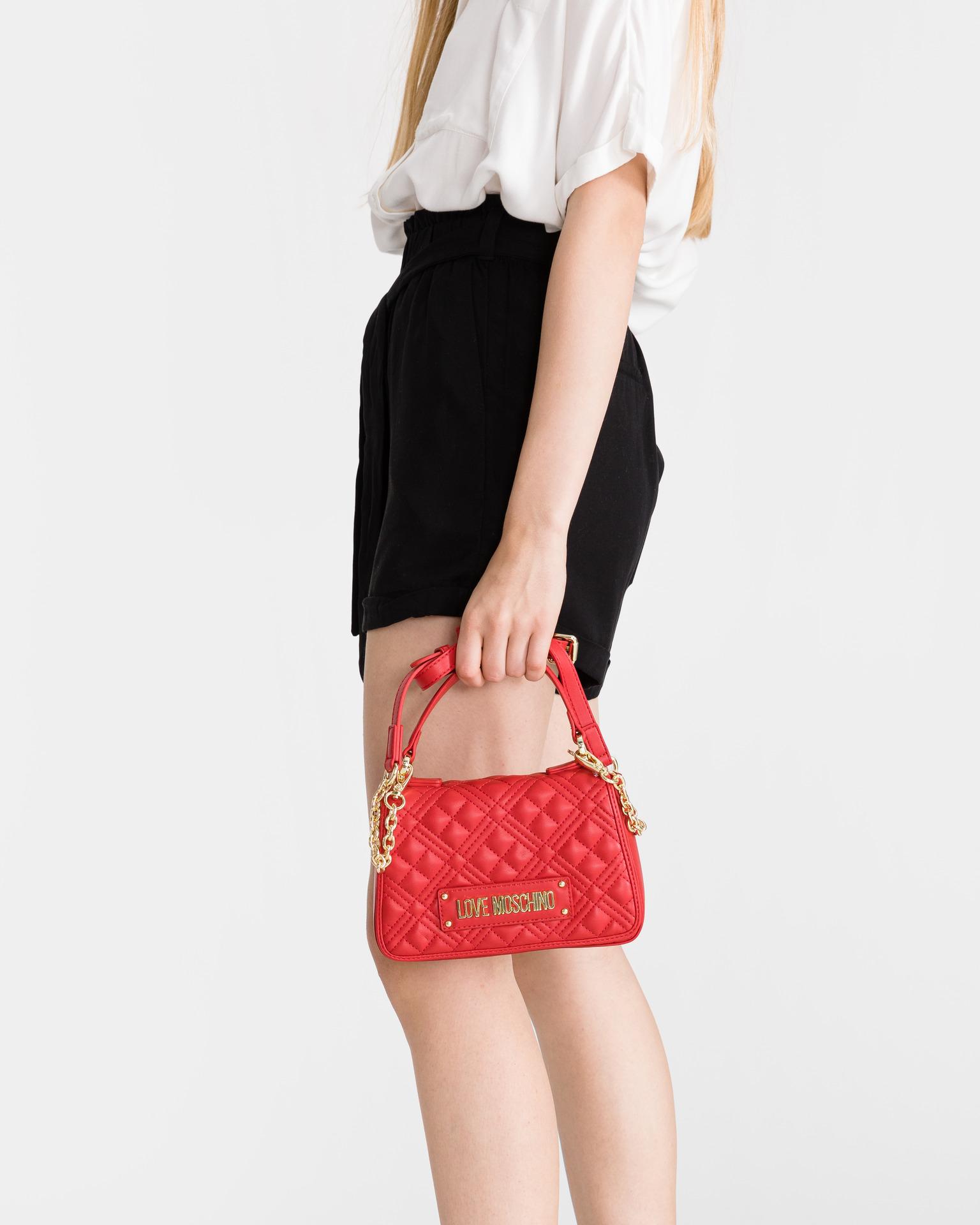 Love Moschino rdeča torbica