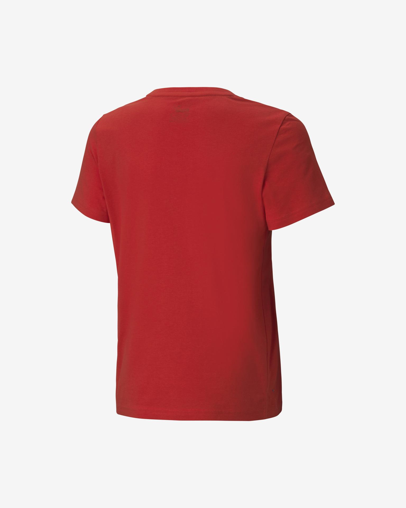 Puma Alpha Graphic Majica otroška Rdeča