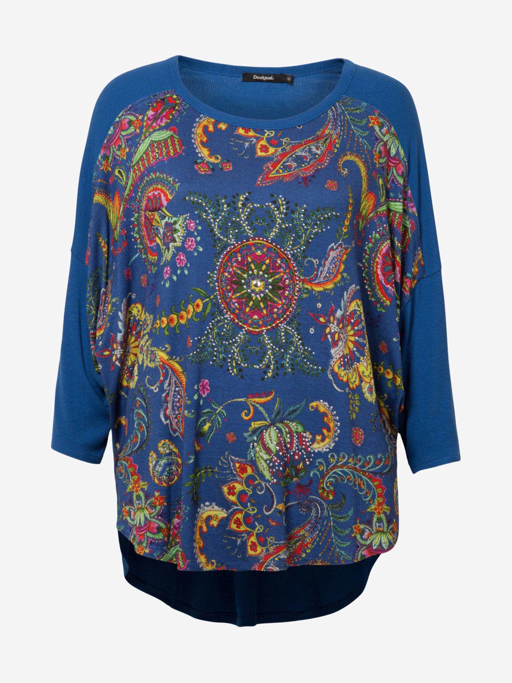 Desigual modra ženske majica Zita