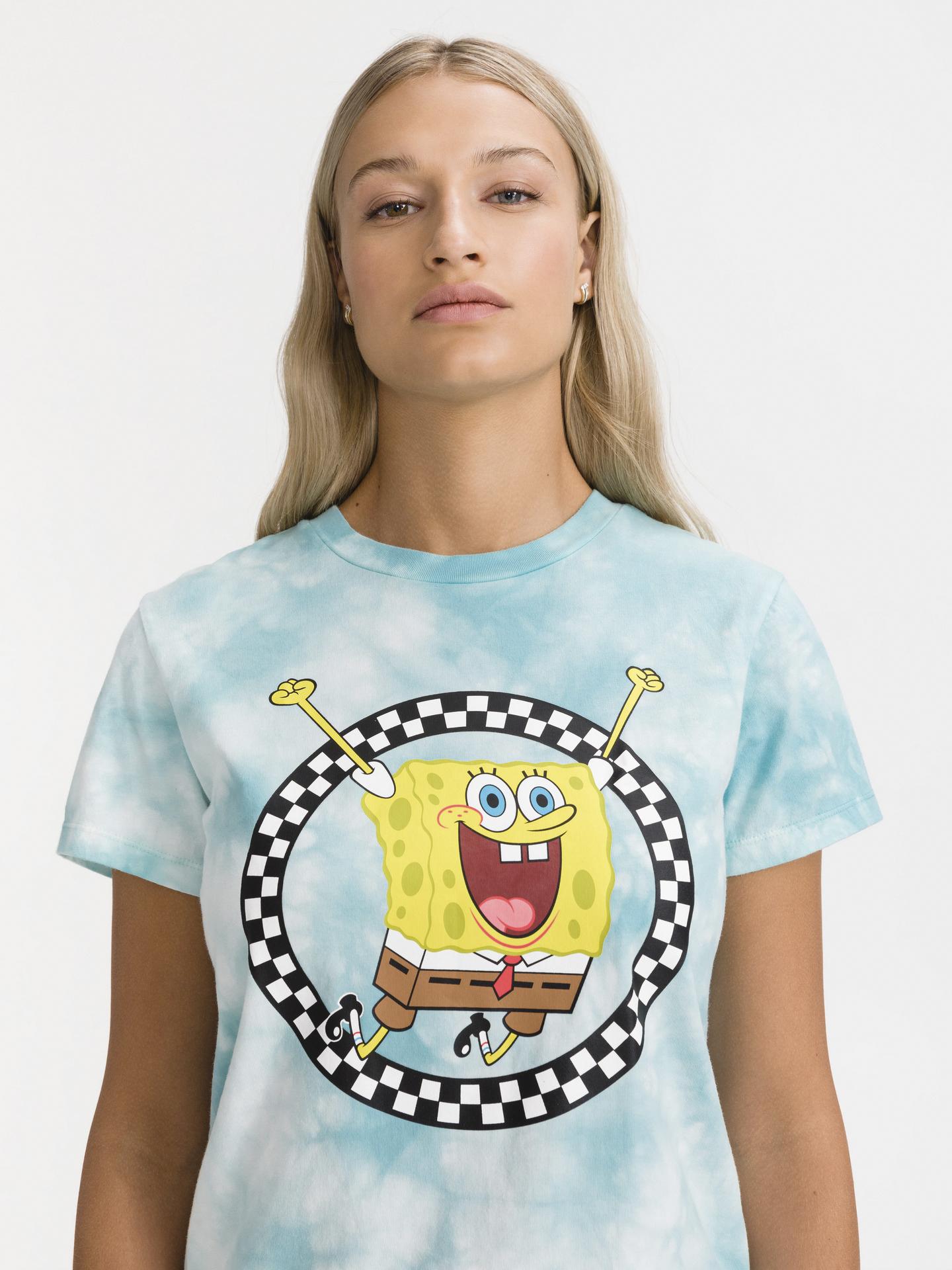 Vans modra majica SpongeBob