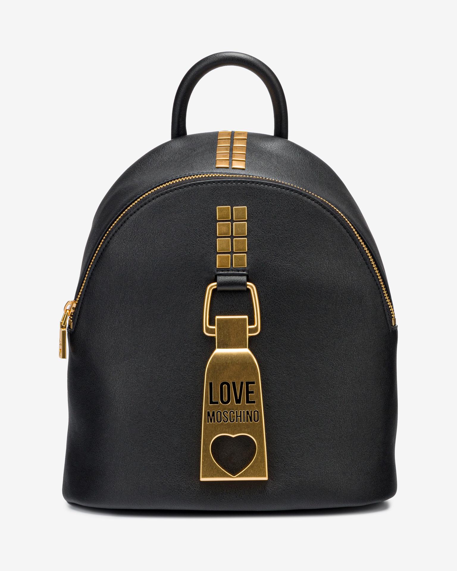 Love Moschino črna nahrbtnik