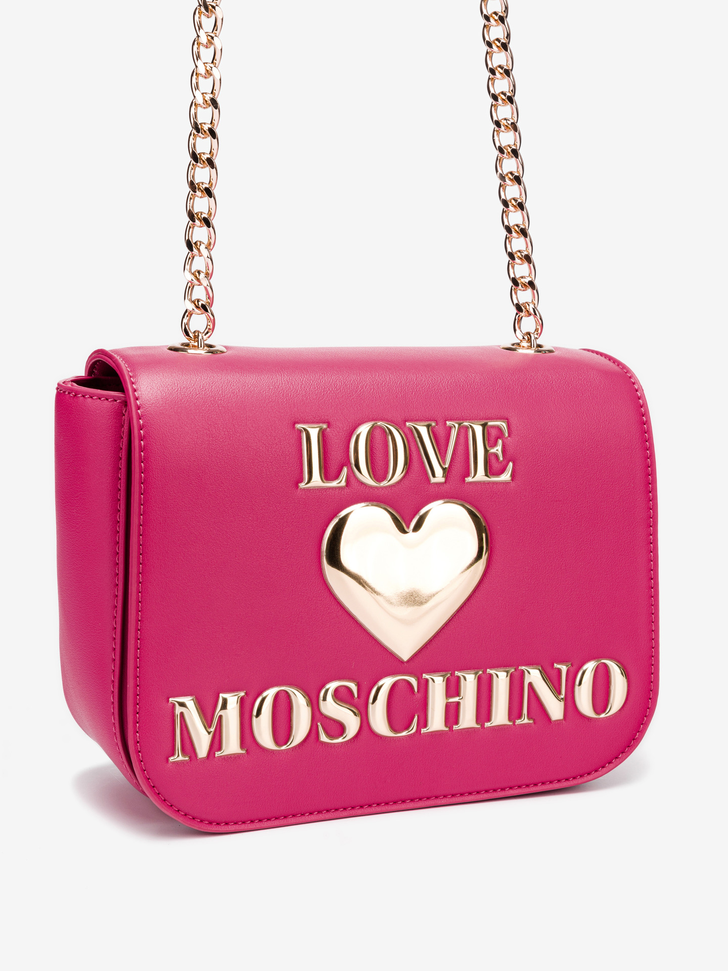Love Moschino roza crossbody torbica