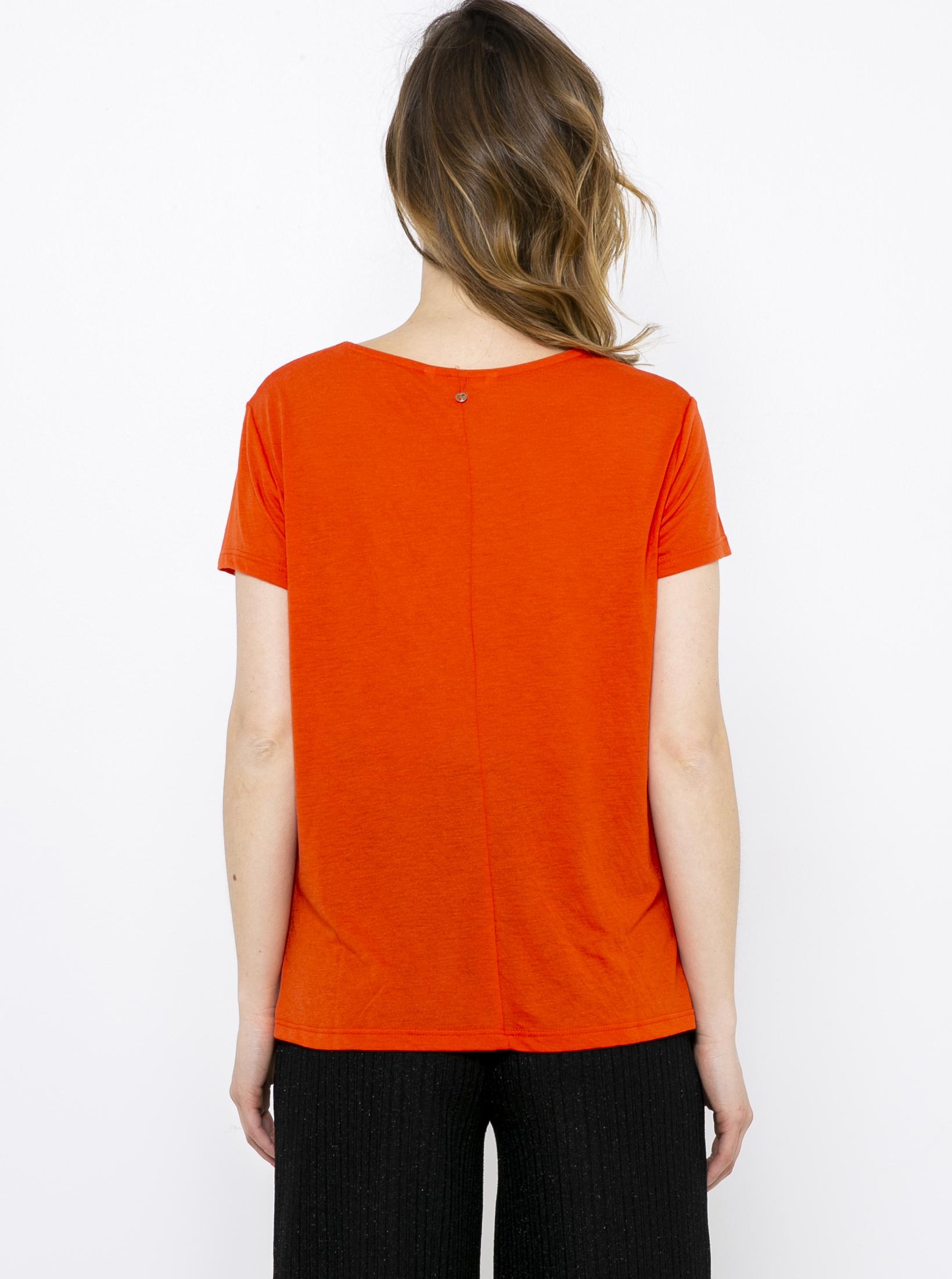 CAMAIEU Ženske majice rdeča
