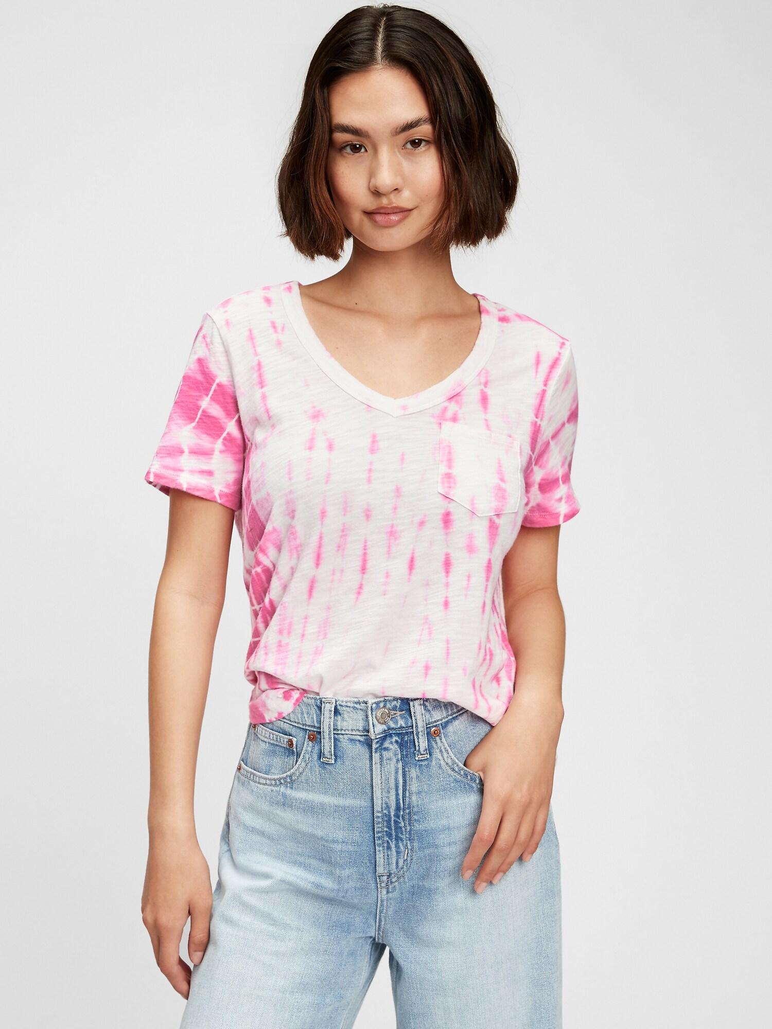GAP roza majica Foreversoft