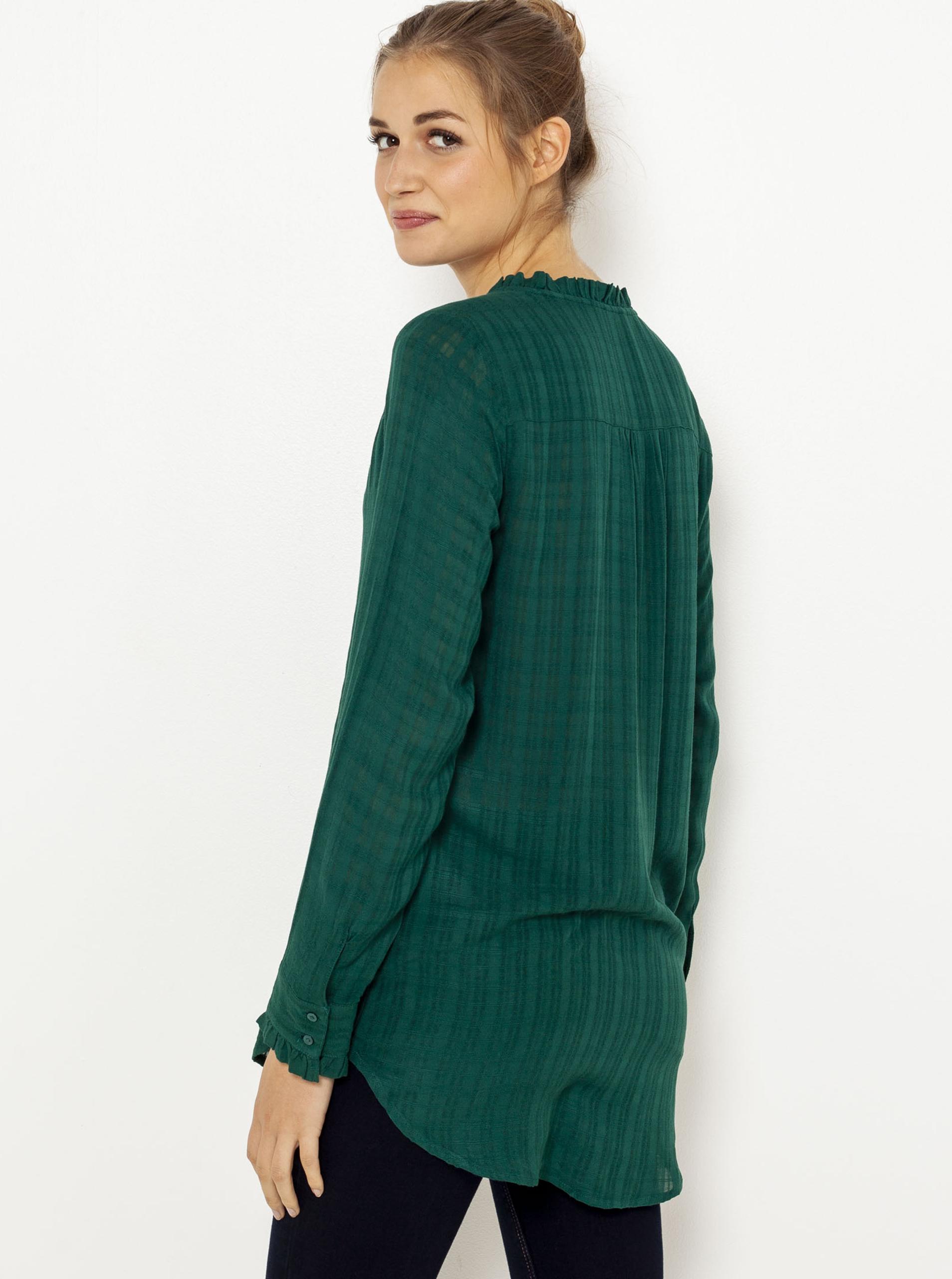 CAMAIEU zelena bluza