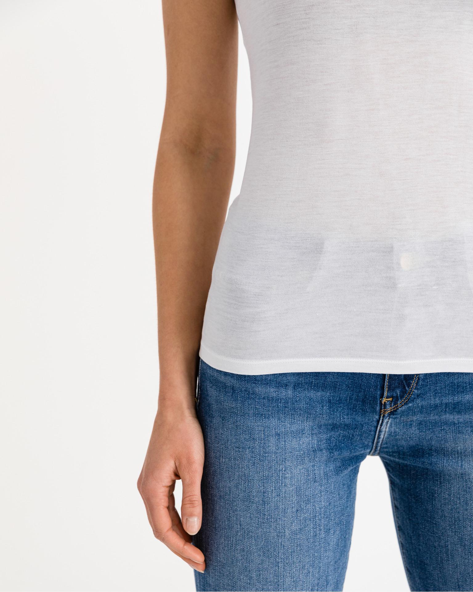 Armani Exchange bela ženske majica