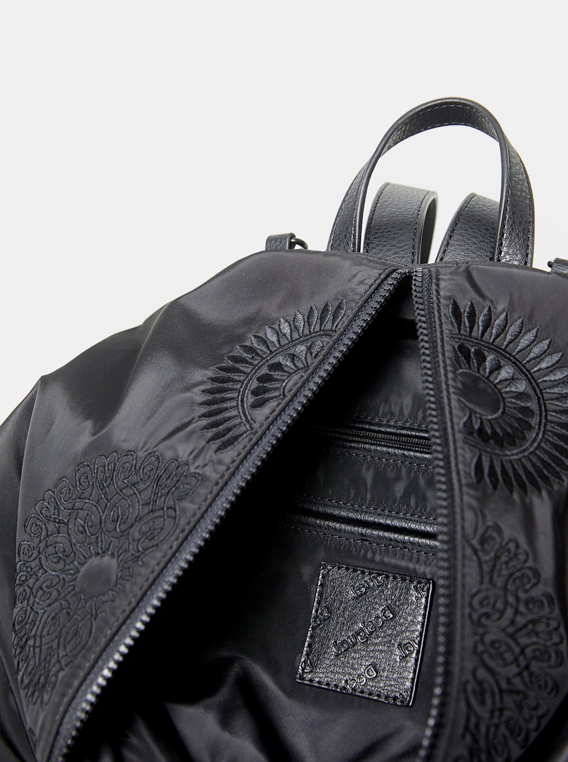 Desigual črna nahrbtnik Mandarala Viana