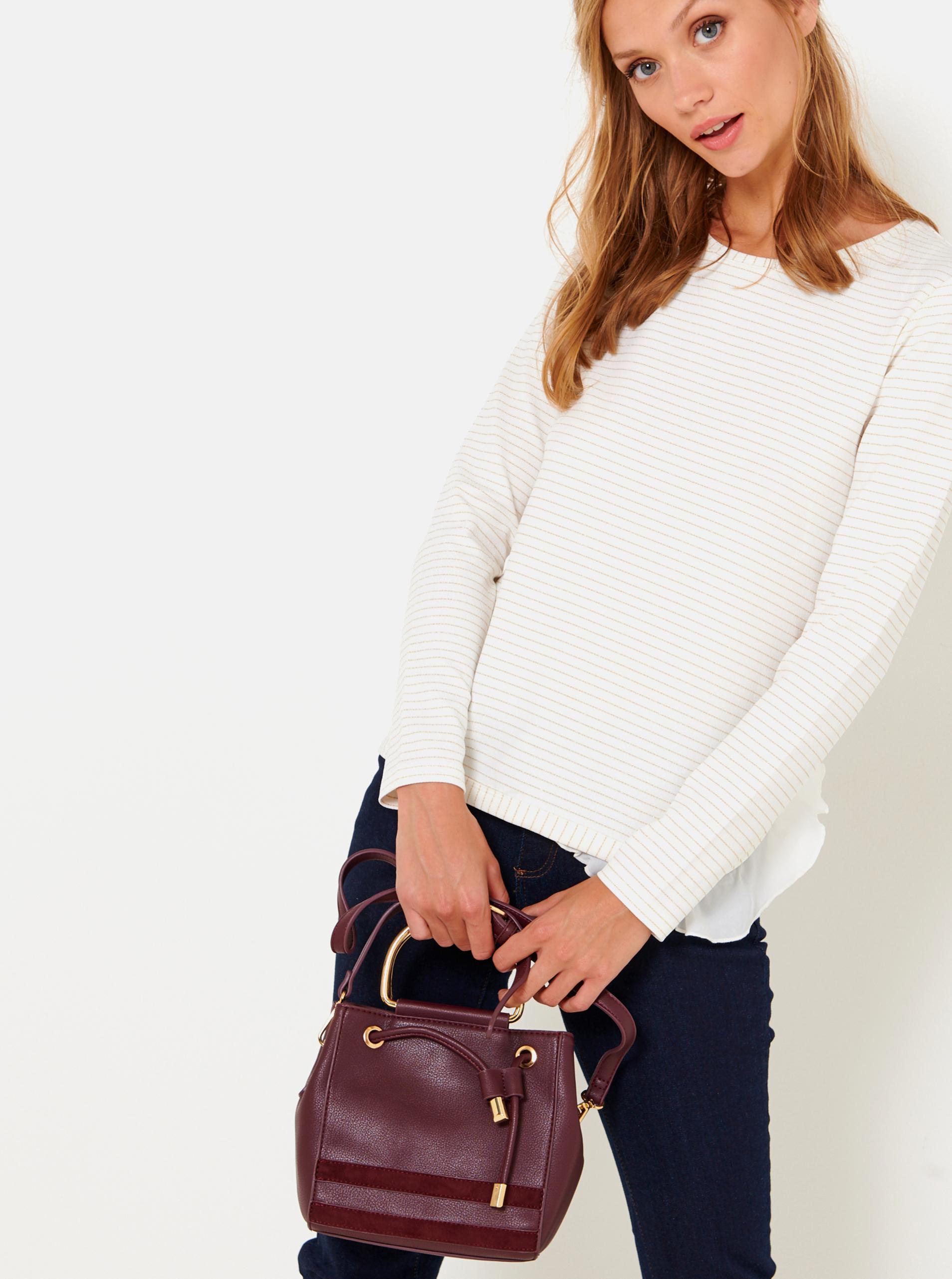 CAMAIEU Ženske torbice vinsko rdeča