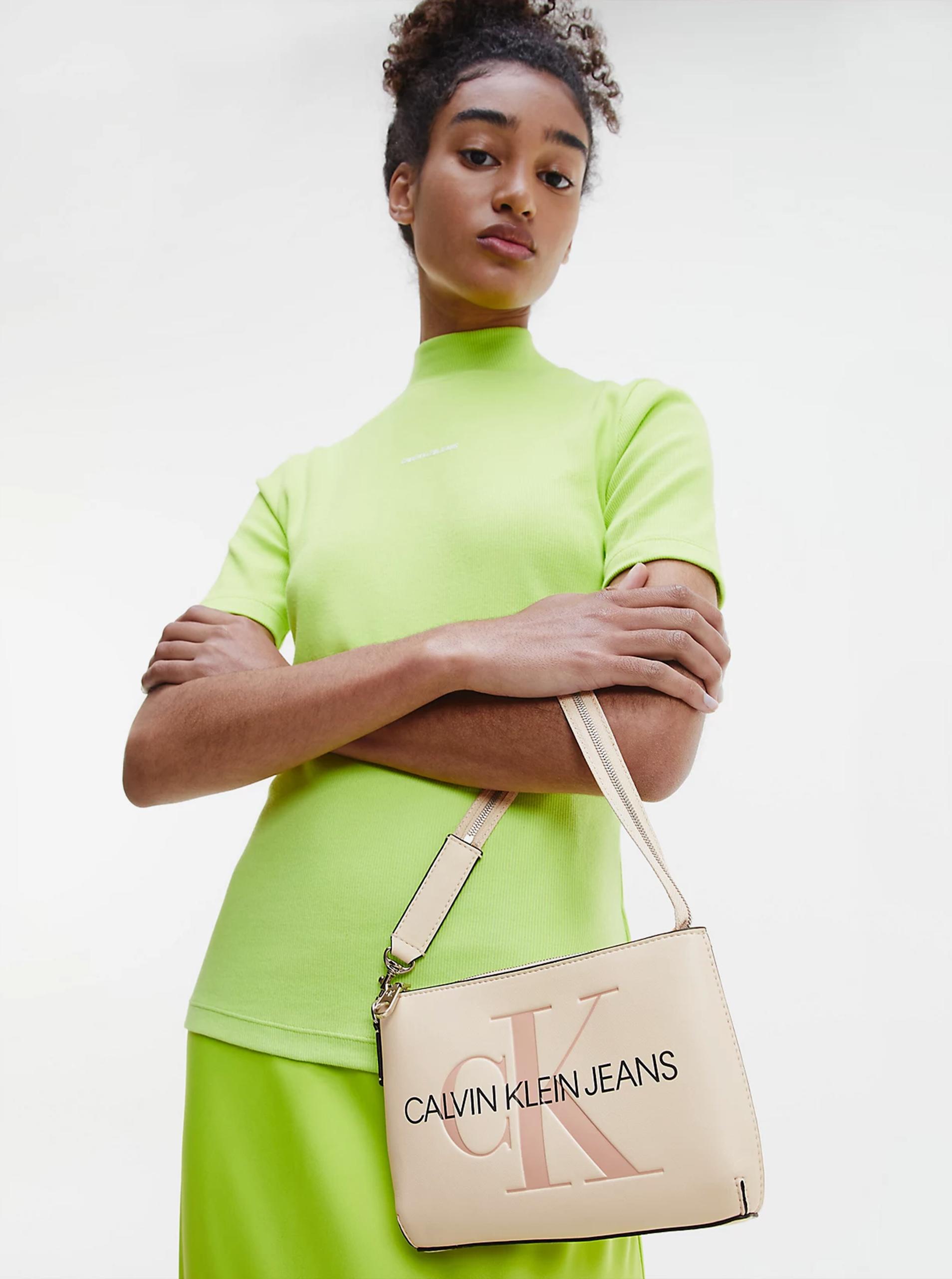 Calvin Klein krem torbica