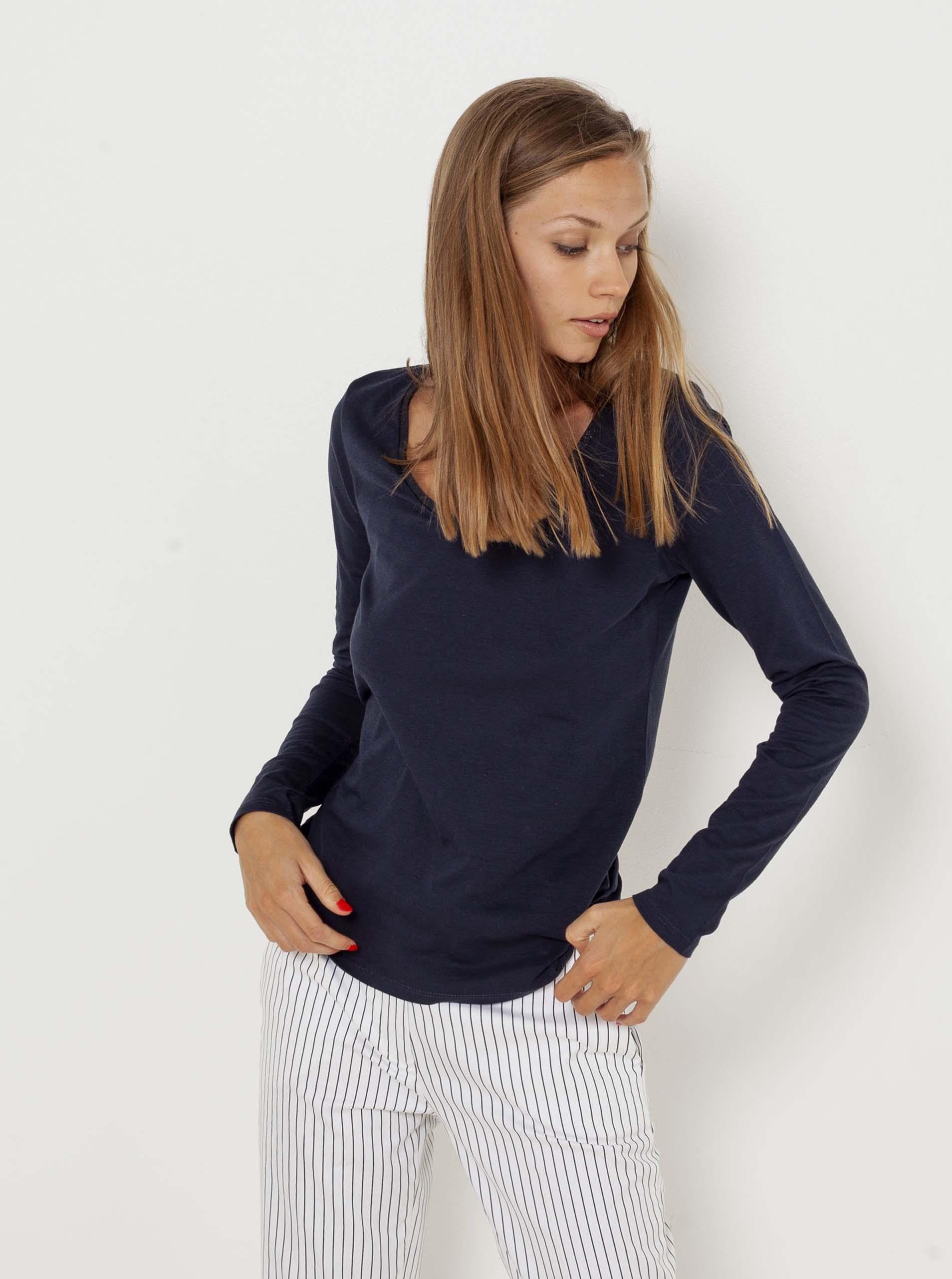 CAMAIEU modra basic majica