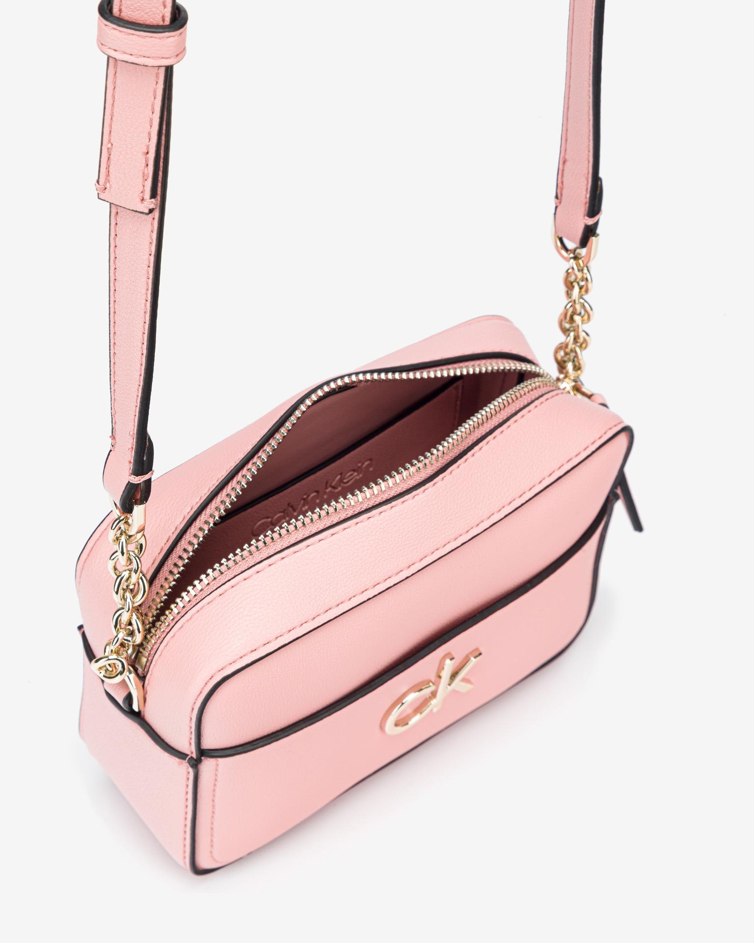Calvin Klein roza crossbody torba