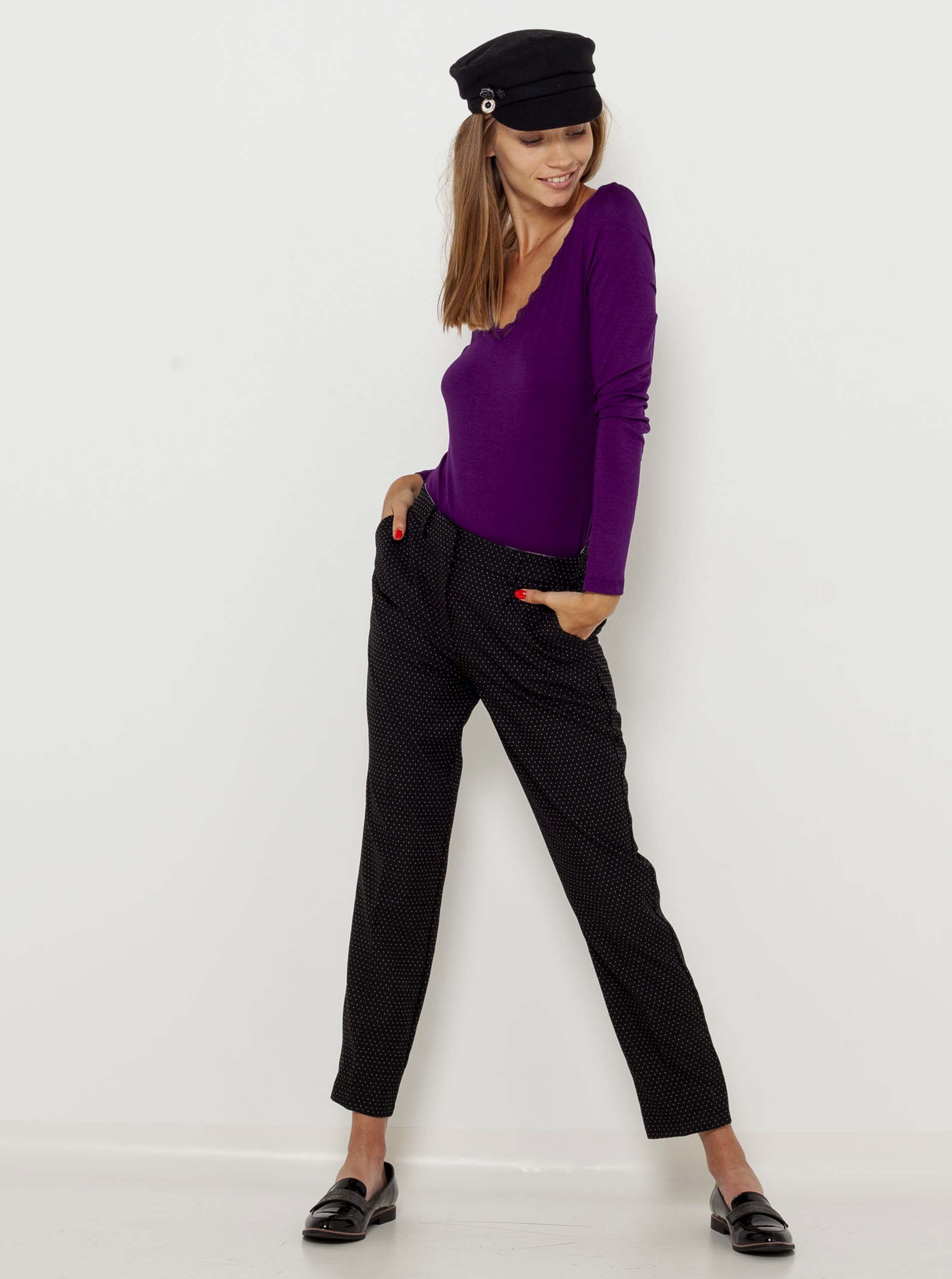 CAMAIEU Ženske majice vijolična