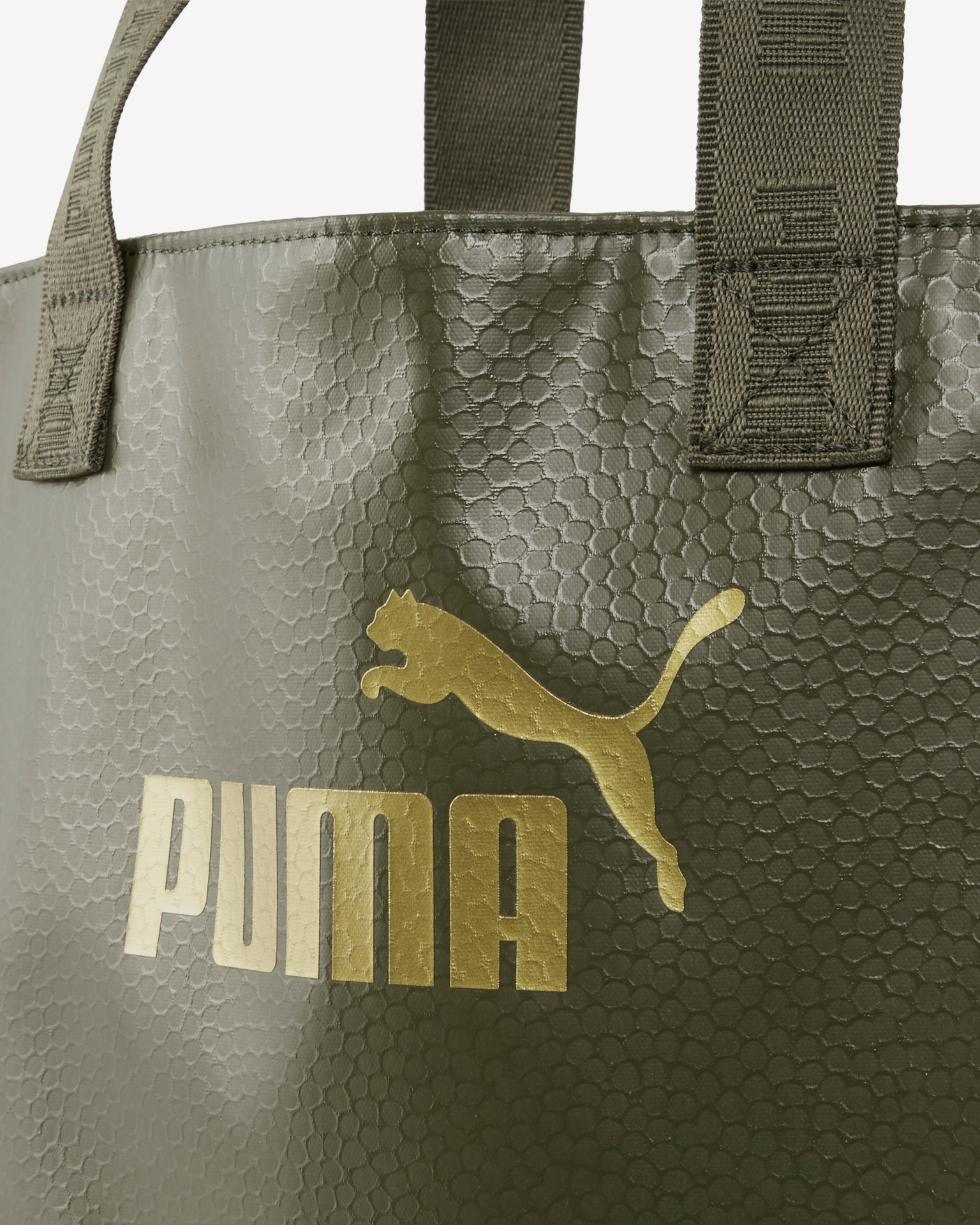 Puma Core Up Shopper torba Zelena