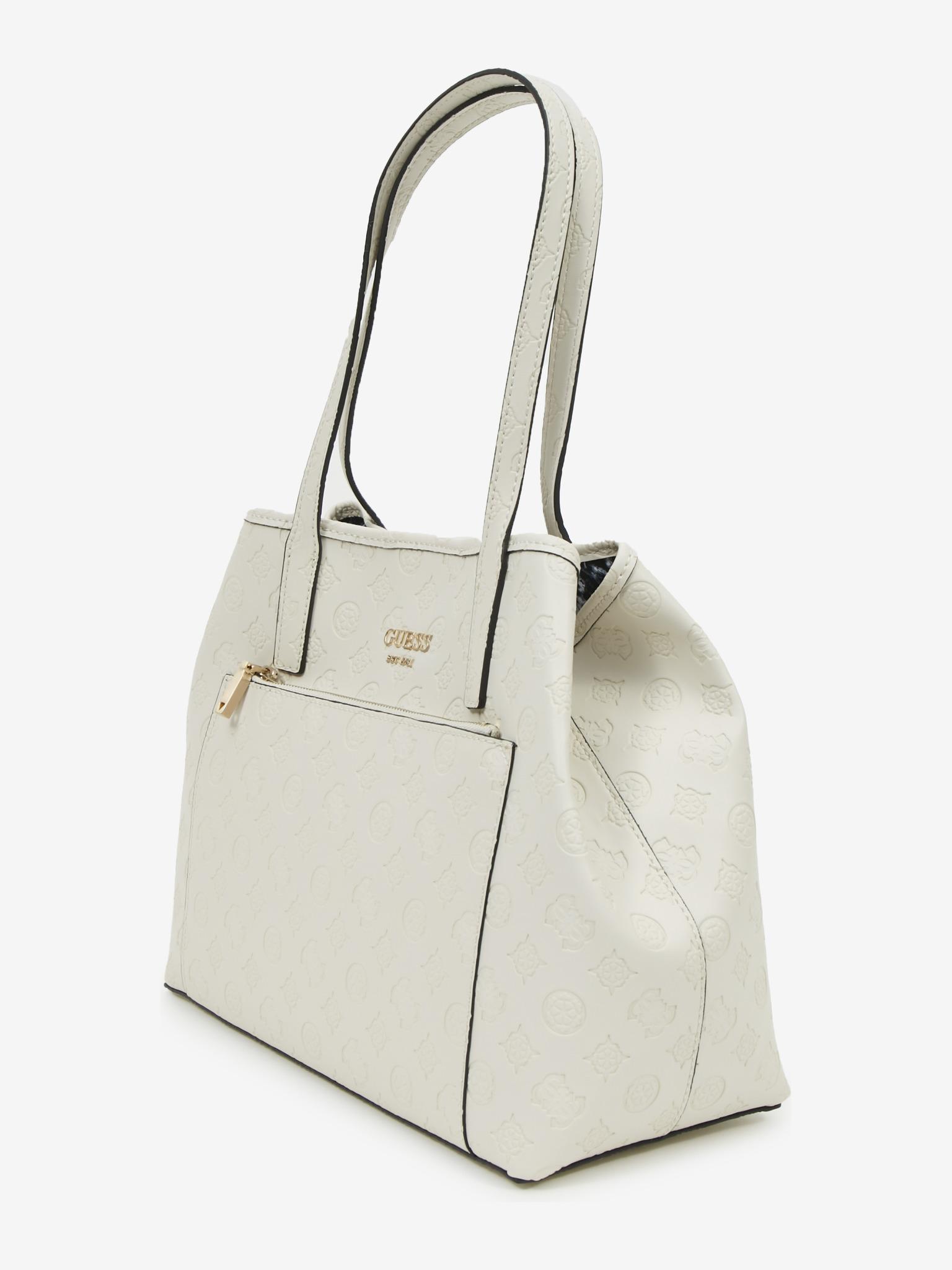 Guess bela torbica Vikky Roo