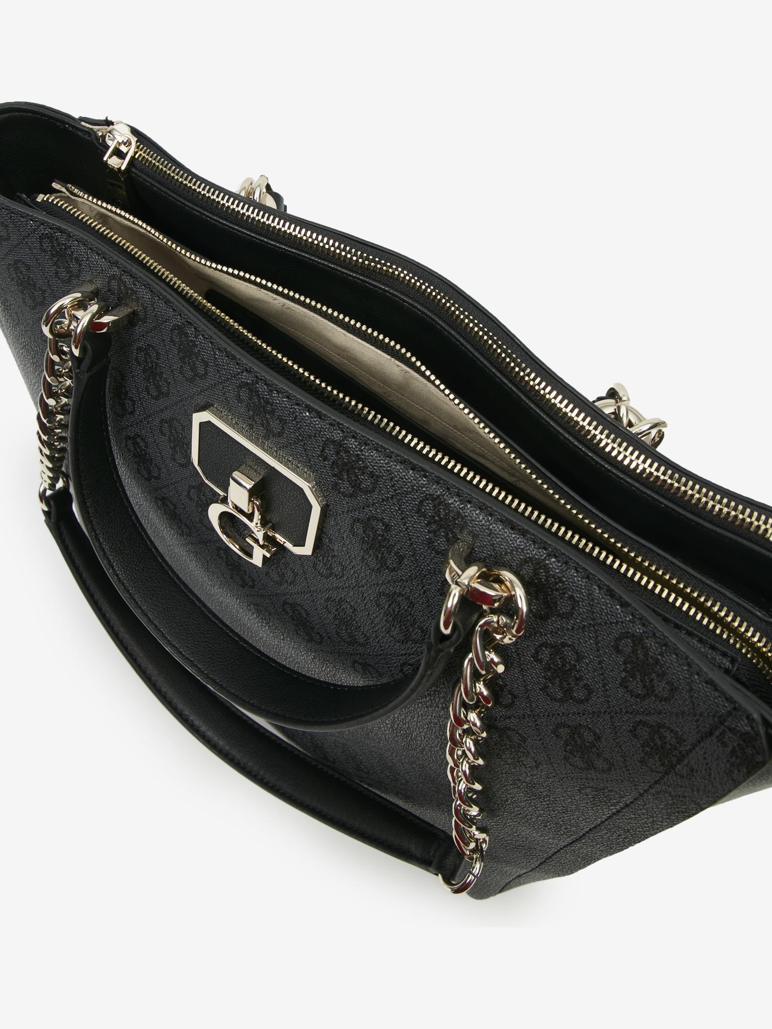 Guess črna torbica Alisa Society