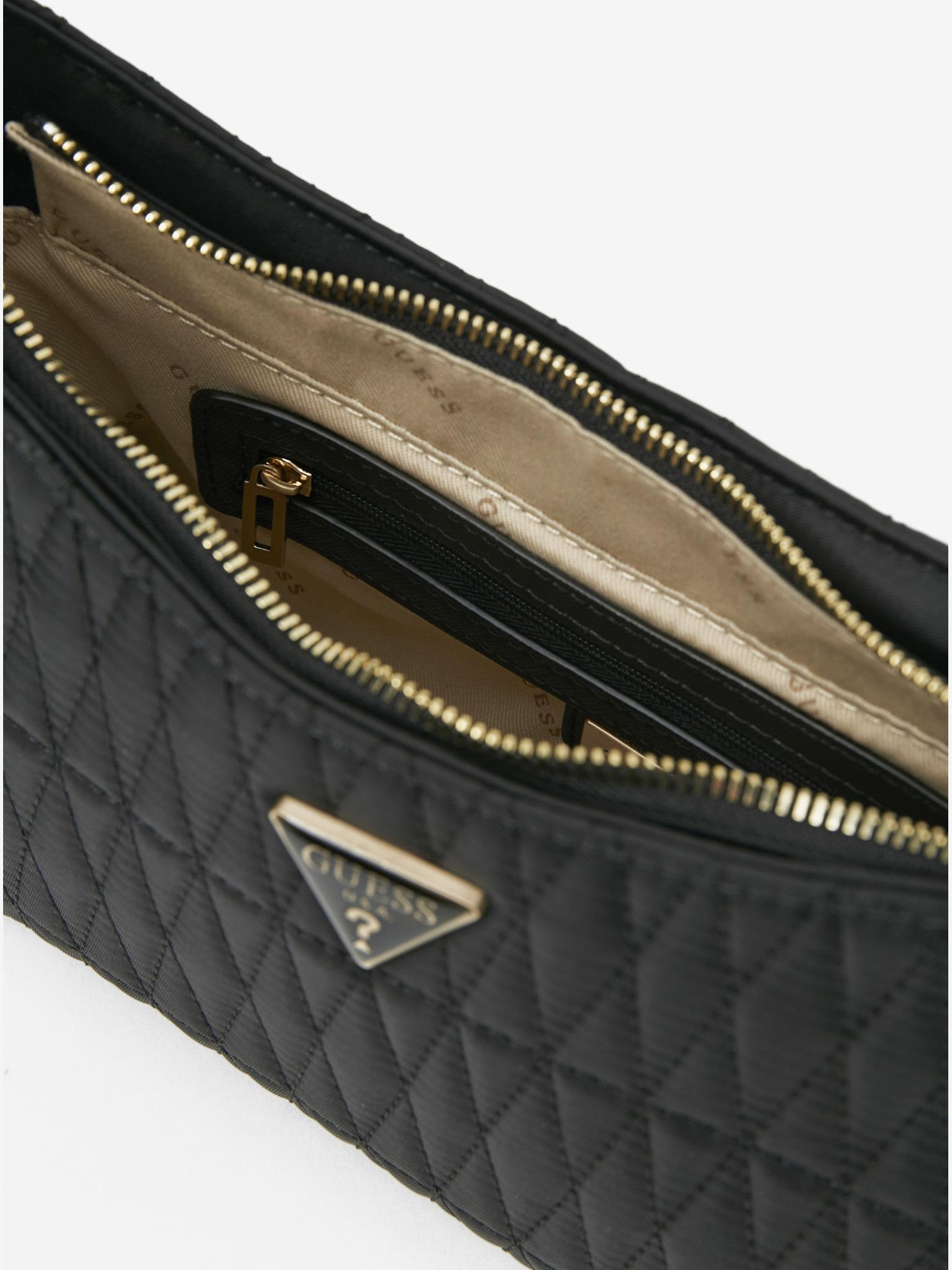 Guess črna torbica Layla Top