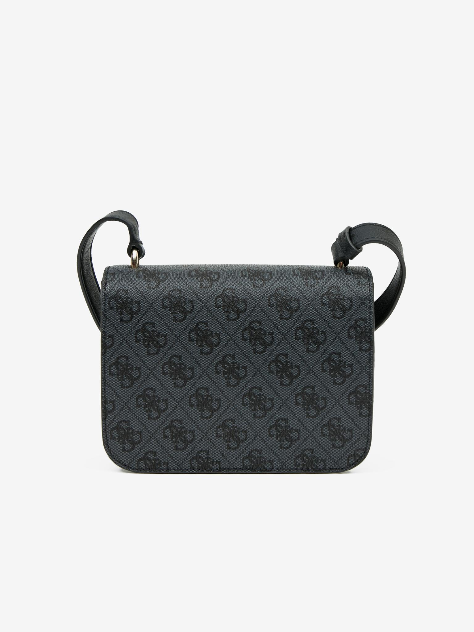 Guess črna crossbody torbica Noelle Mini
