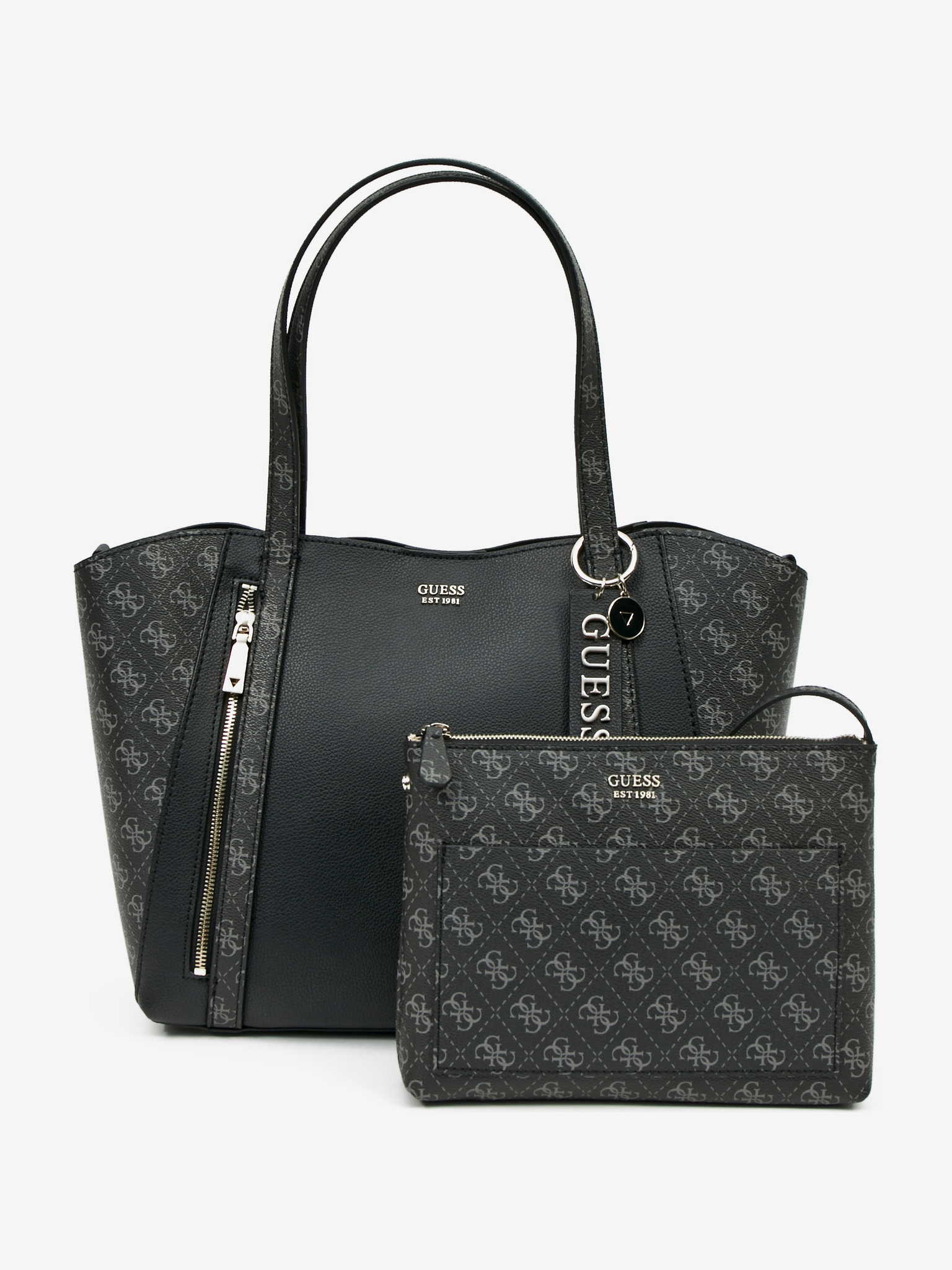 Guess črna torbica Naya
