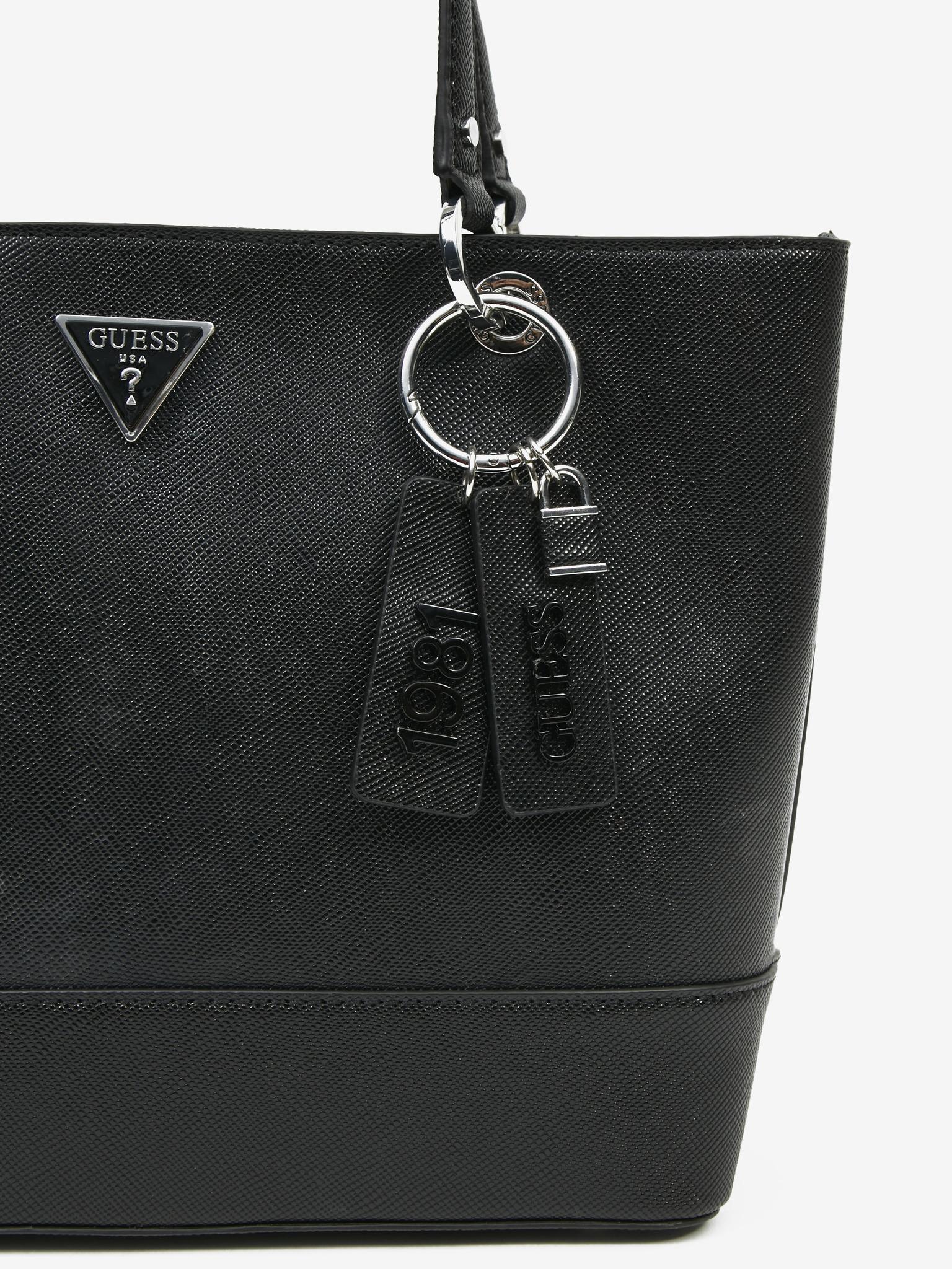Guess črna torbica Noelle Elite