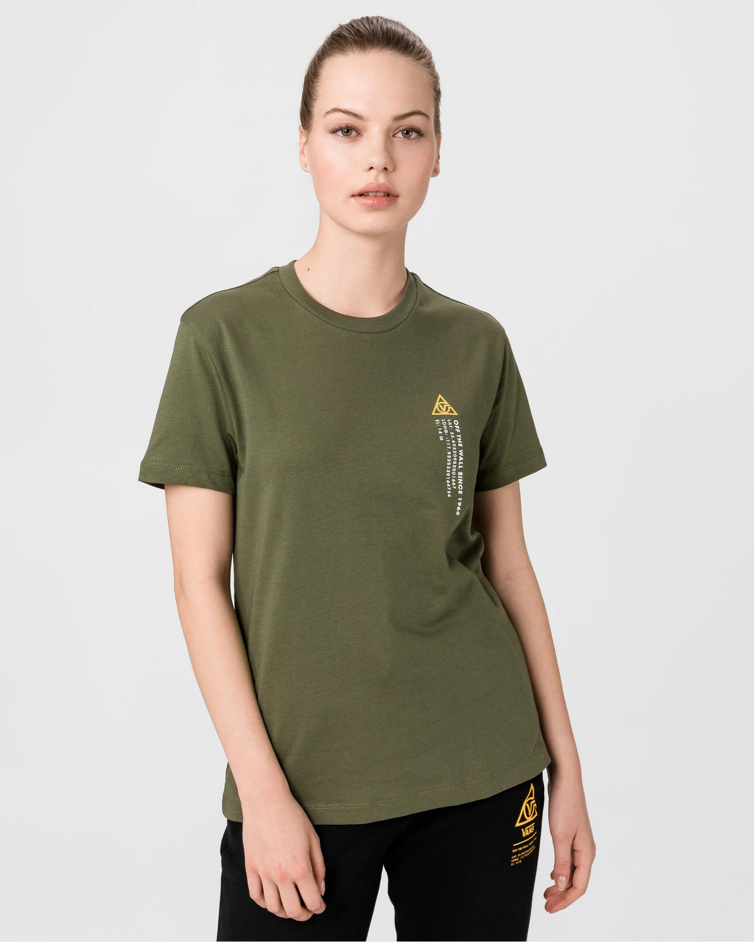 Vans zelena majica 66 Supply Tri