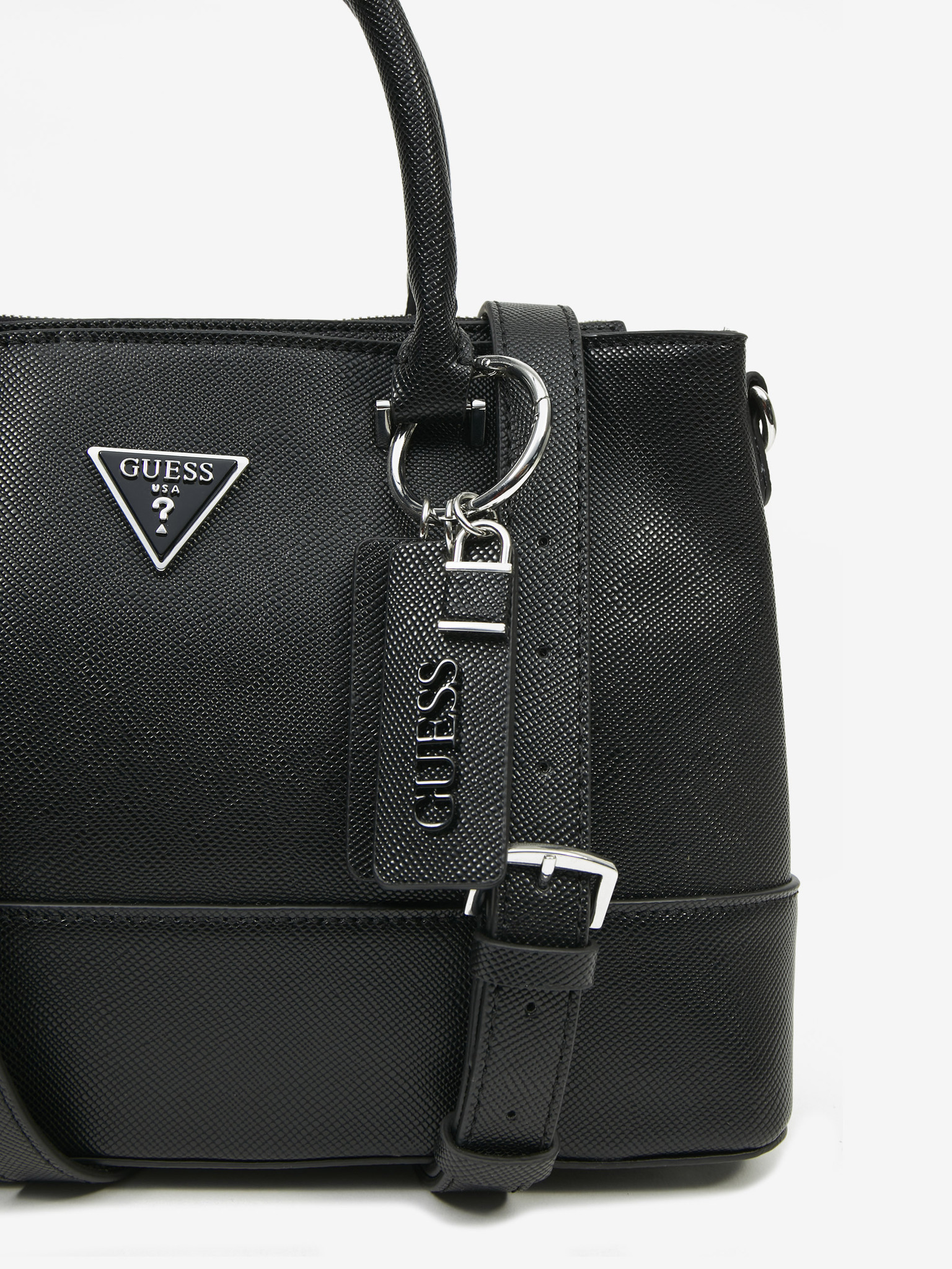 Guess črna torbica Cordelia Luxury