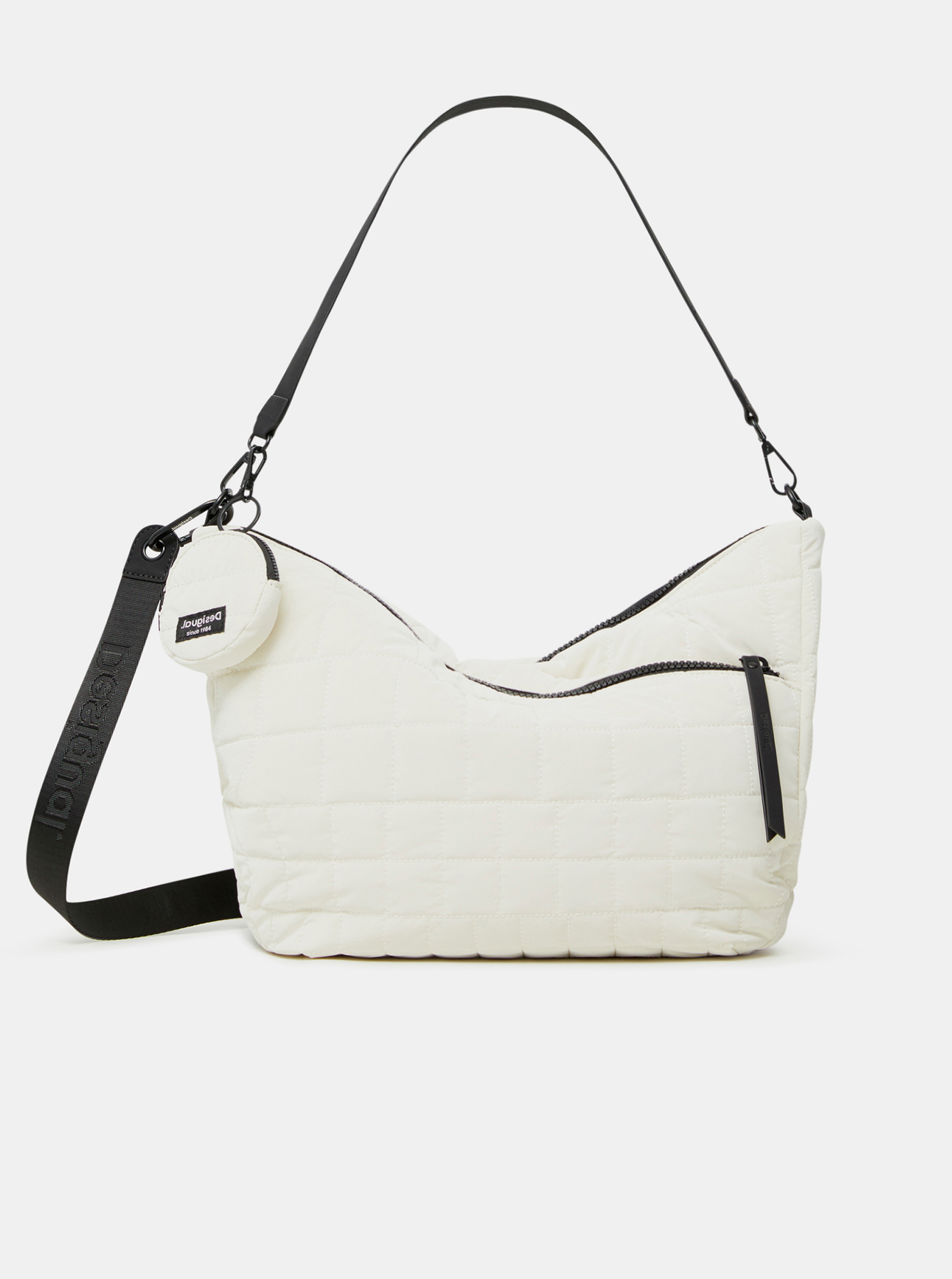 Desigual bela torbica COcoa Harry 2.0 Maxy